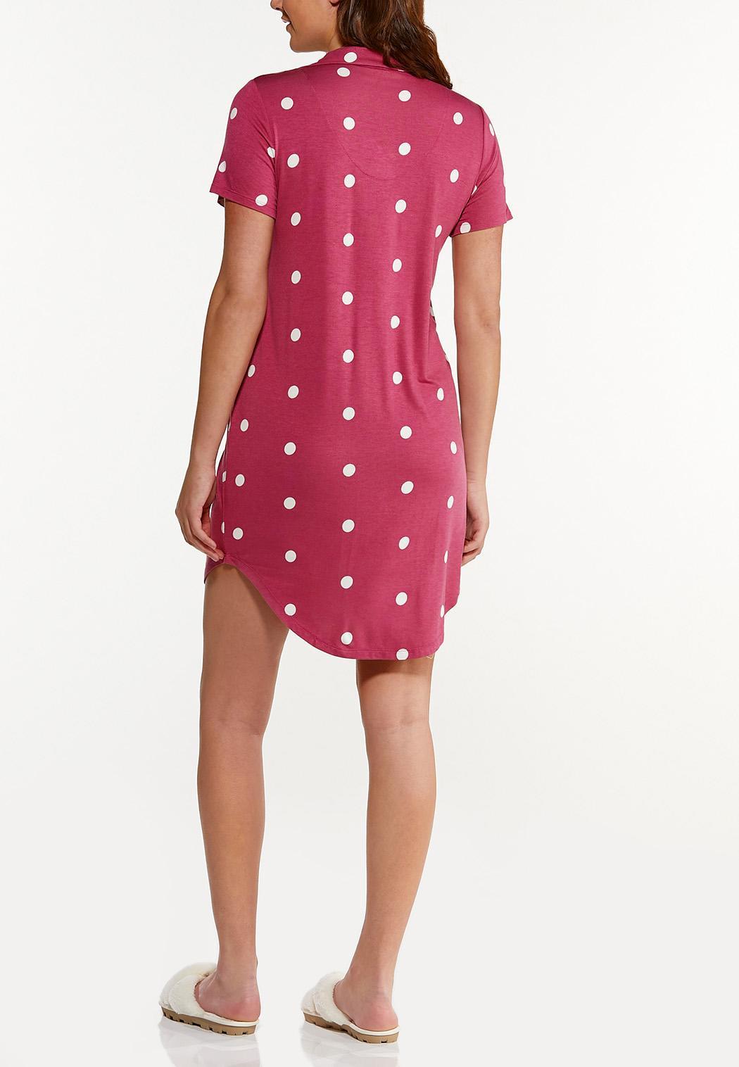 Berry Dot Sleep Shirt (Item #44591807)