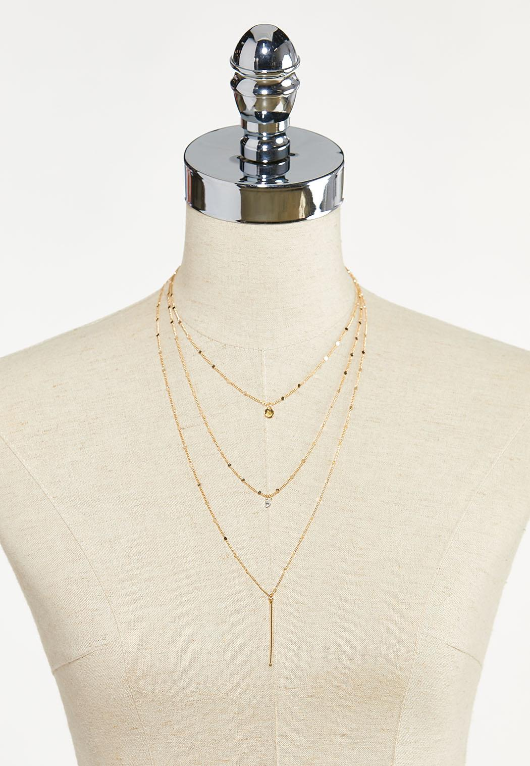 Dainty Dot Layered Necklace (Item #44592192)