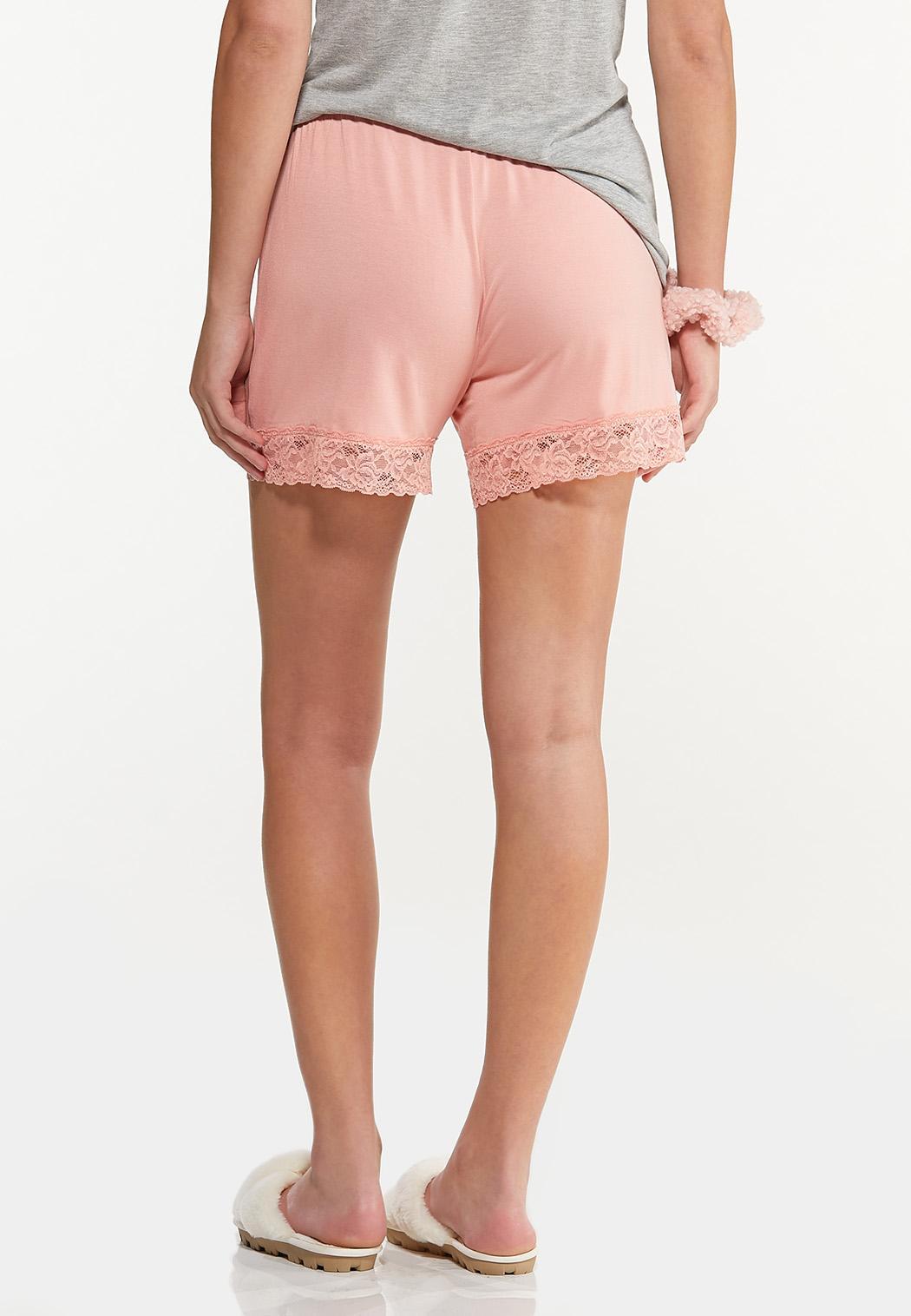 Lace Trim Sleep Shorts (Item #44592212)
