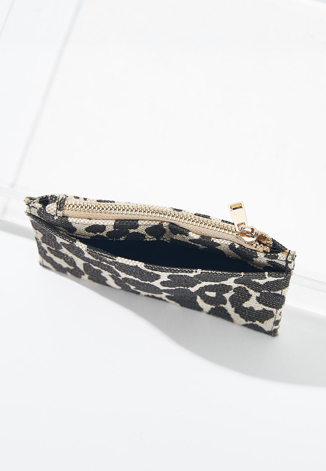 Leopard Mini Card Wallet (Item #44592348)