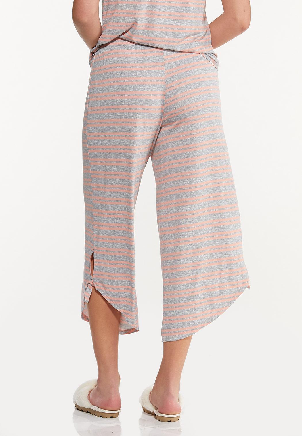 Cropped Stripe Sleep Pants (Item #44592349)
