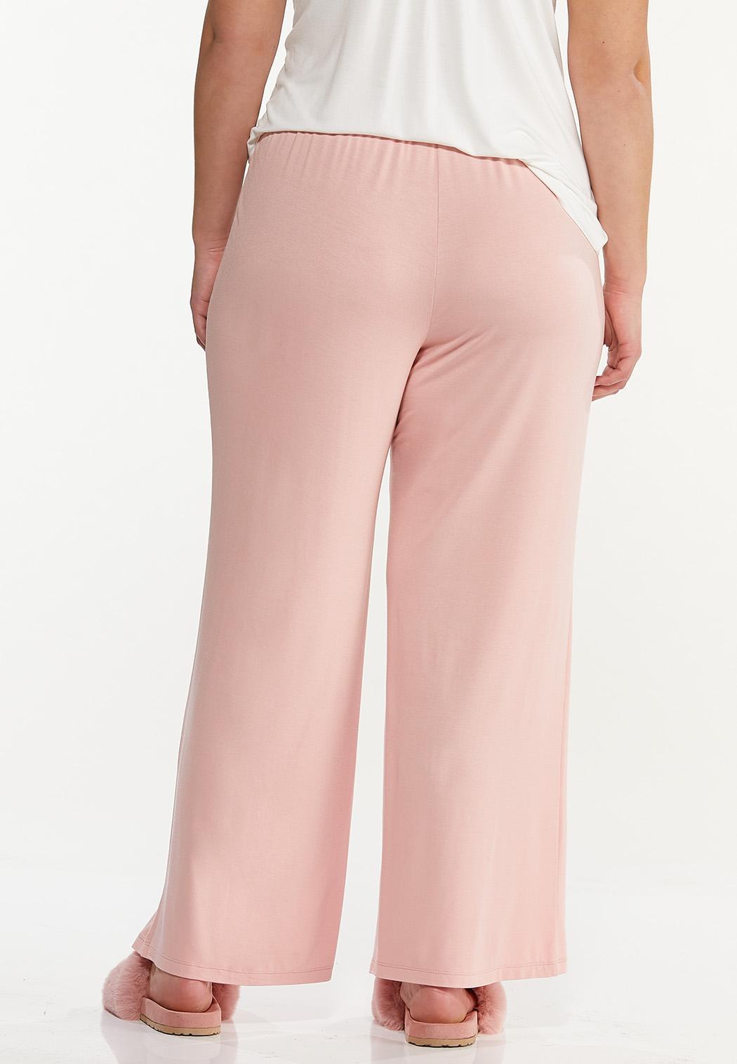 Plus Size Pink Sleep Pants (Item #44592439)