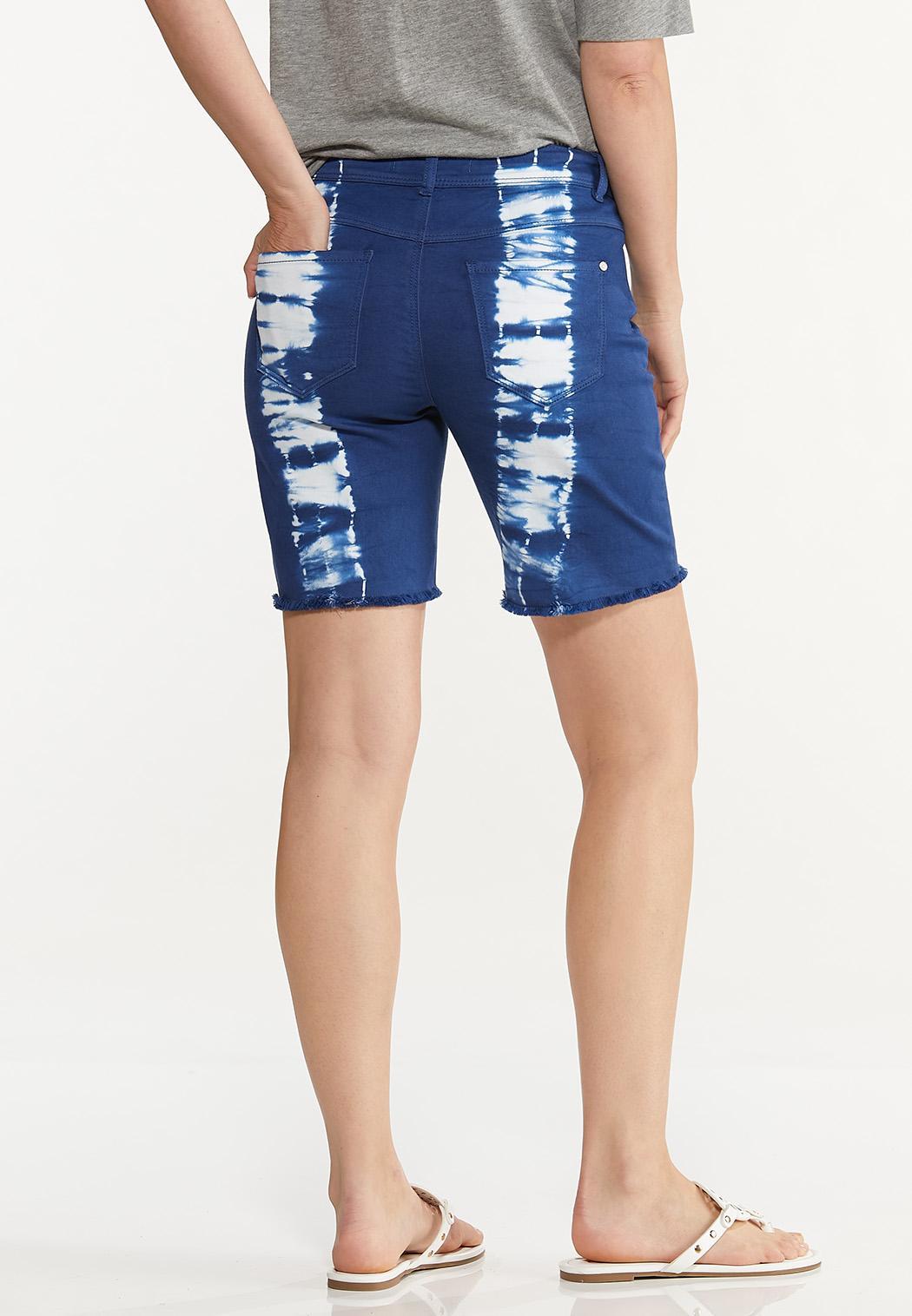 Dyed Denim Shorts (Item #44592450)