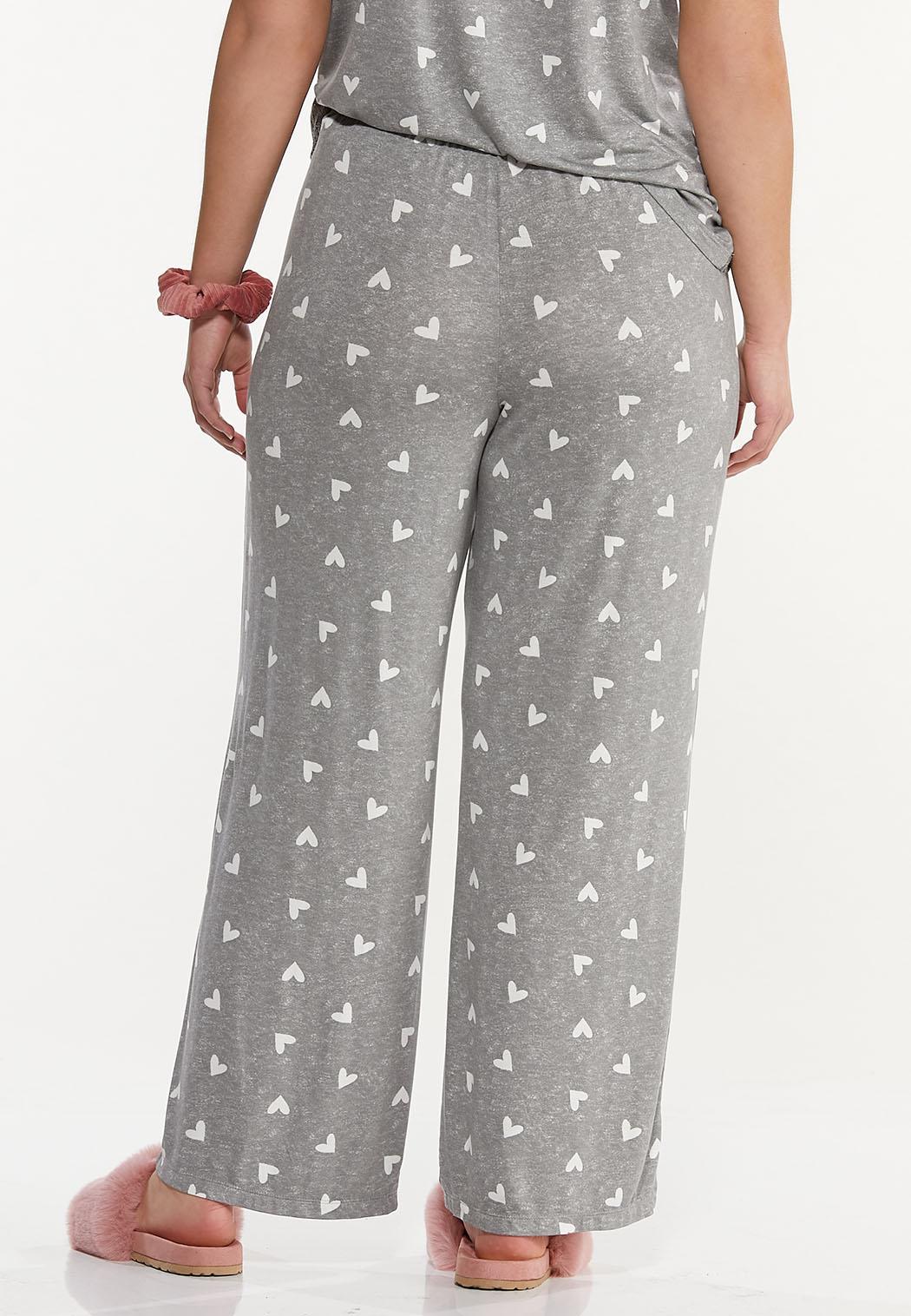 Plus Size Heart Lounge Pants (Item #44592468)