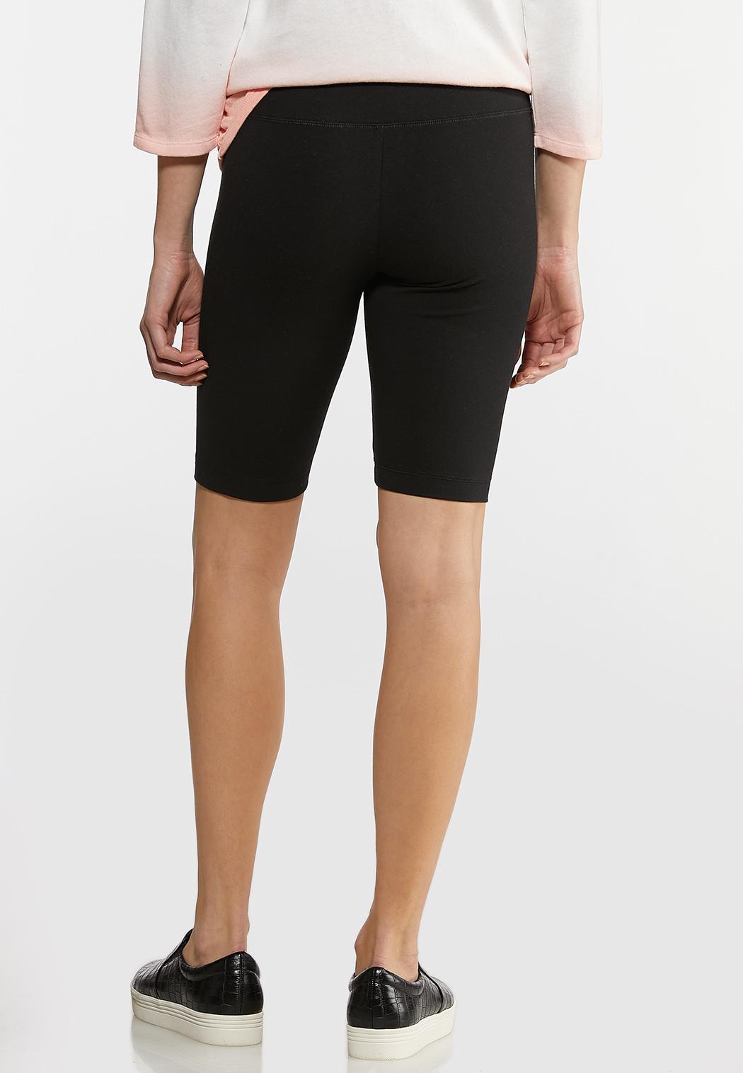 Pull-On Stretch Biker Shorts (Item #44592510)