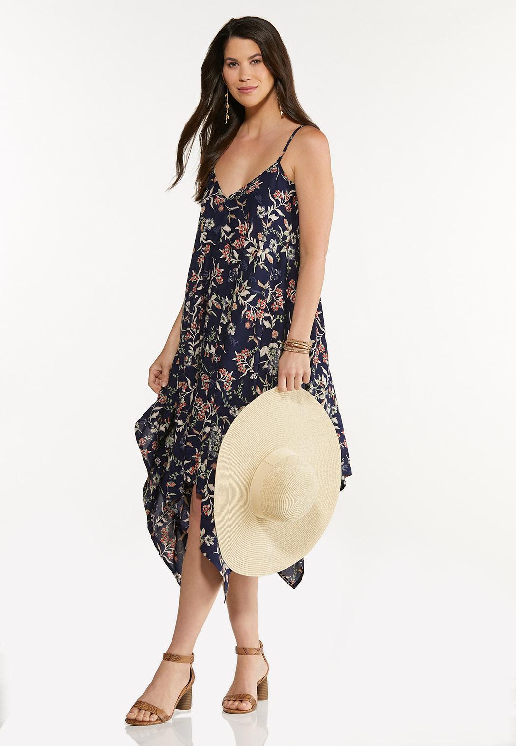Floral Hanky Midi Dress (Item #44592816)