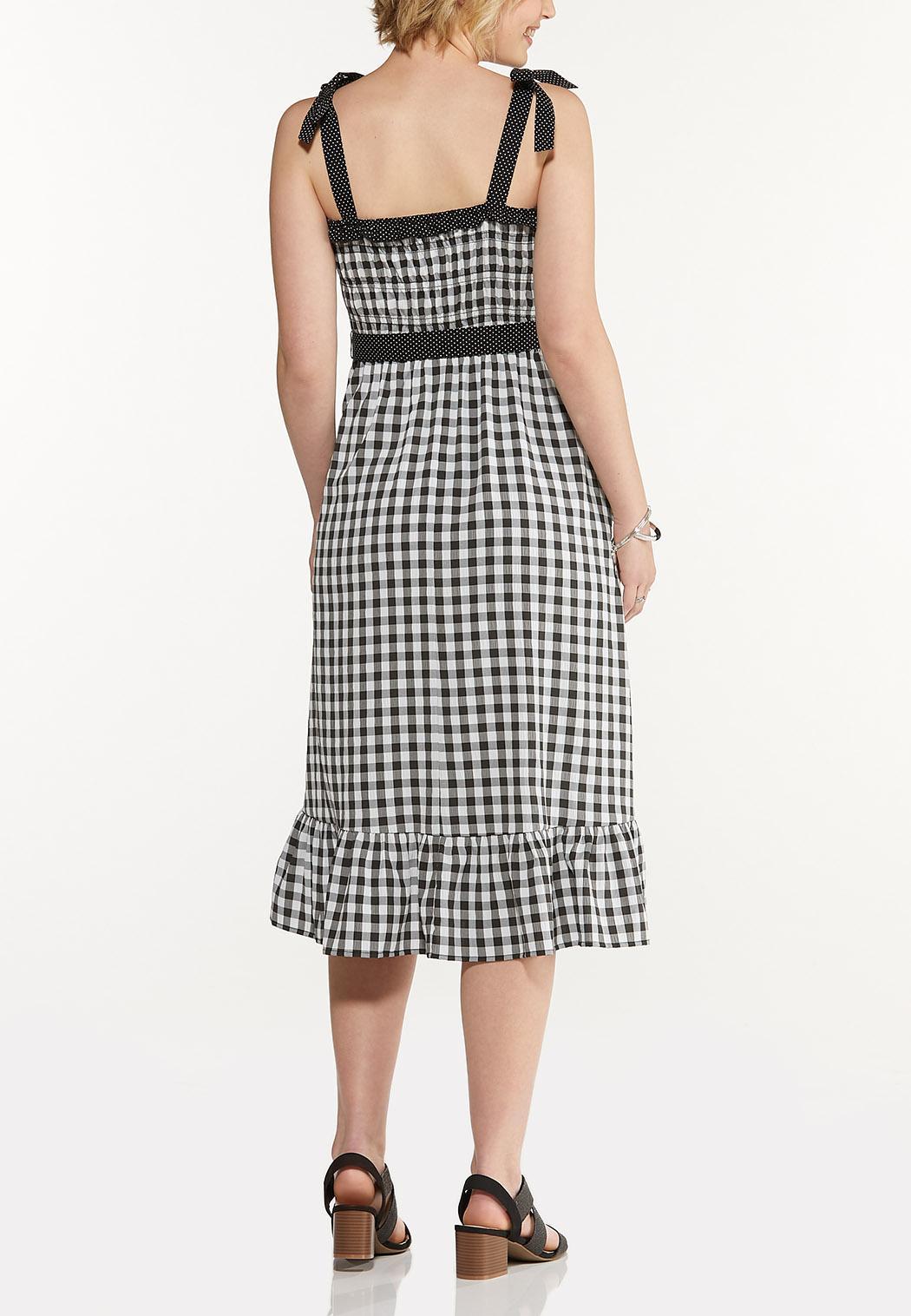 Gingham Dot Dress (Item #44592965)