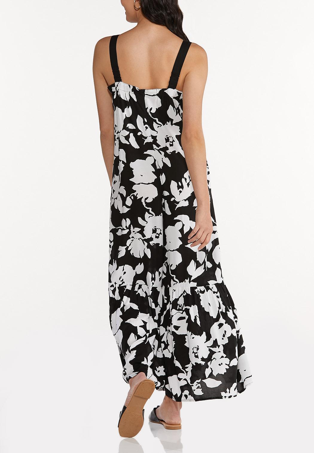 Petite Ruffled Floral Jumpsuit (Item #44593011)