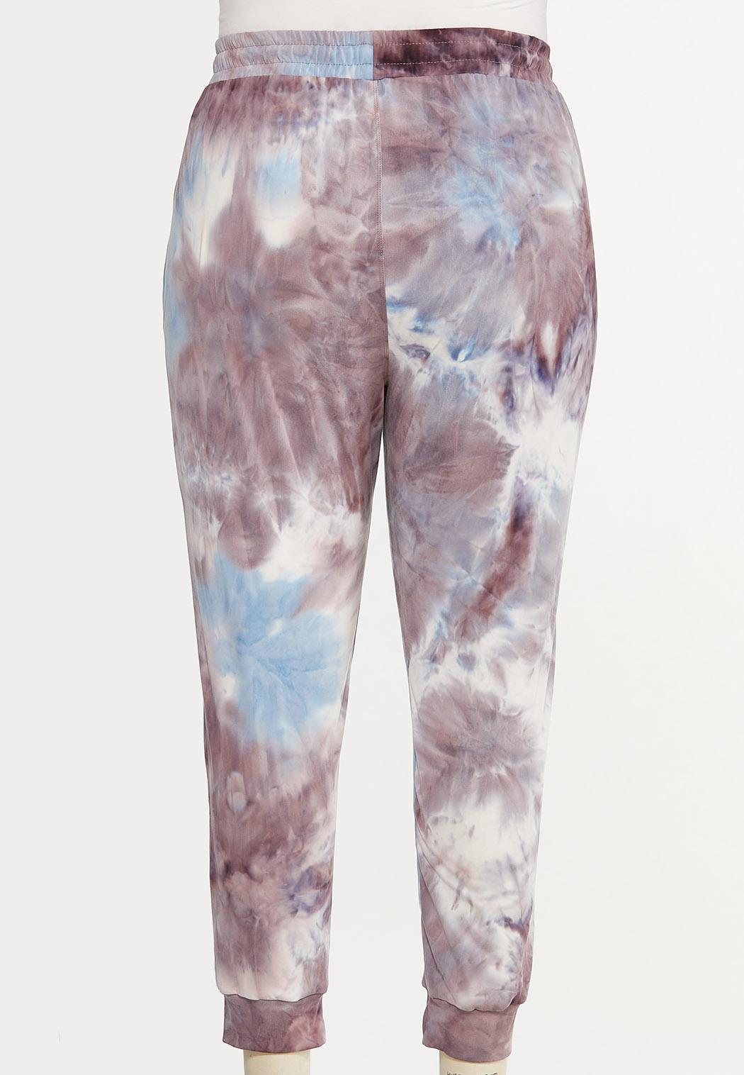 Plus Size Tie Dye Joggers (Item #44595012)