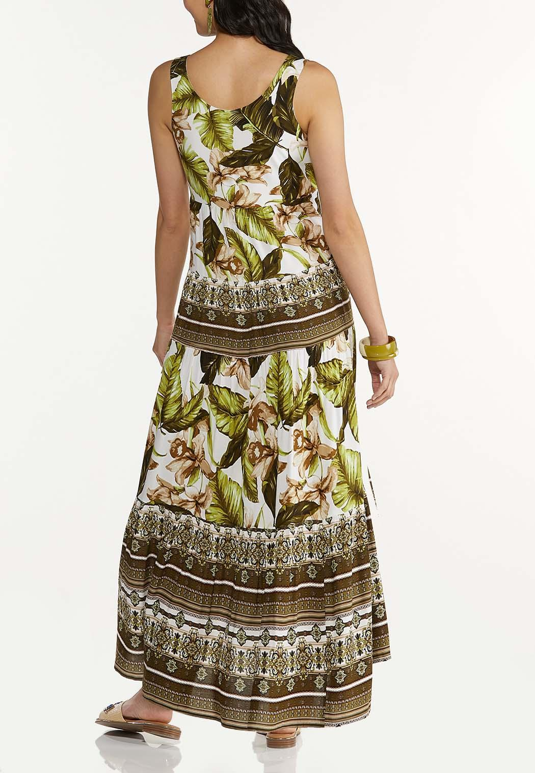 Plus Size Island Dreams Maxi Dress (Item #44595623)