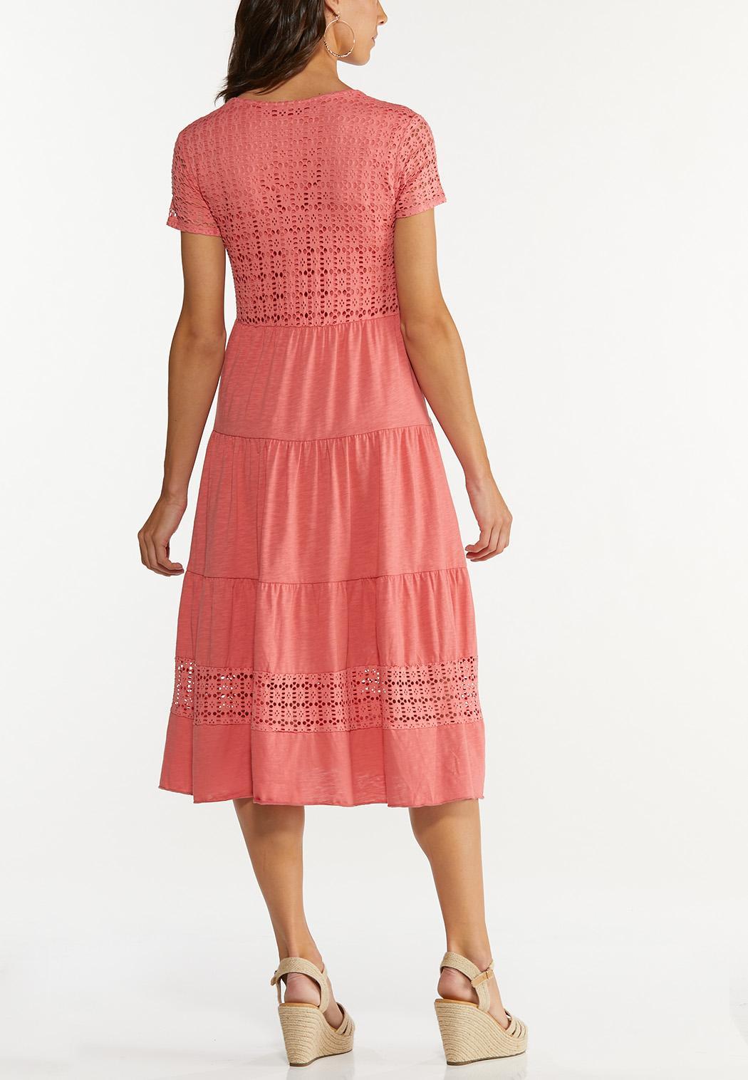 Tiered Eyelet Dress (Item #44595975)