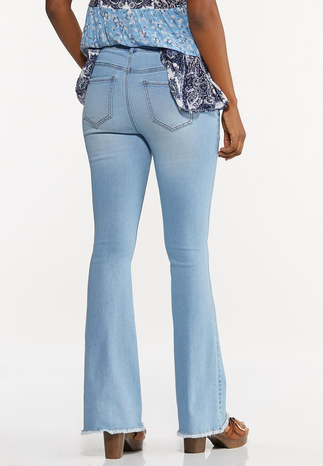 High Rise Flare Jeans (Item #44596778)