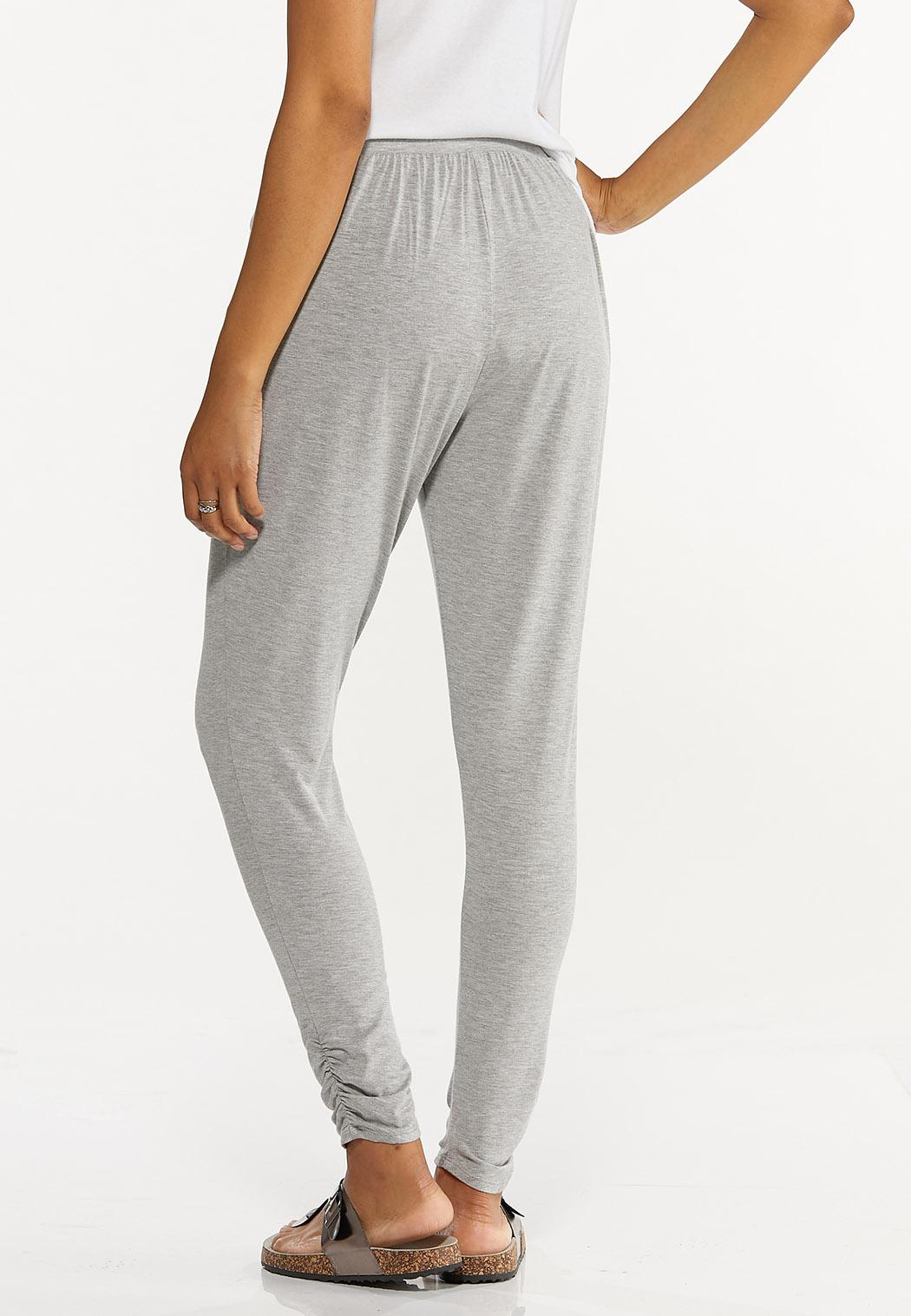 Gray Ruched Pants (Item #44598341)