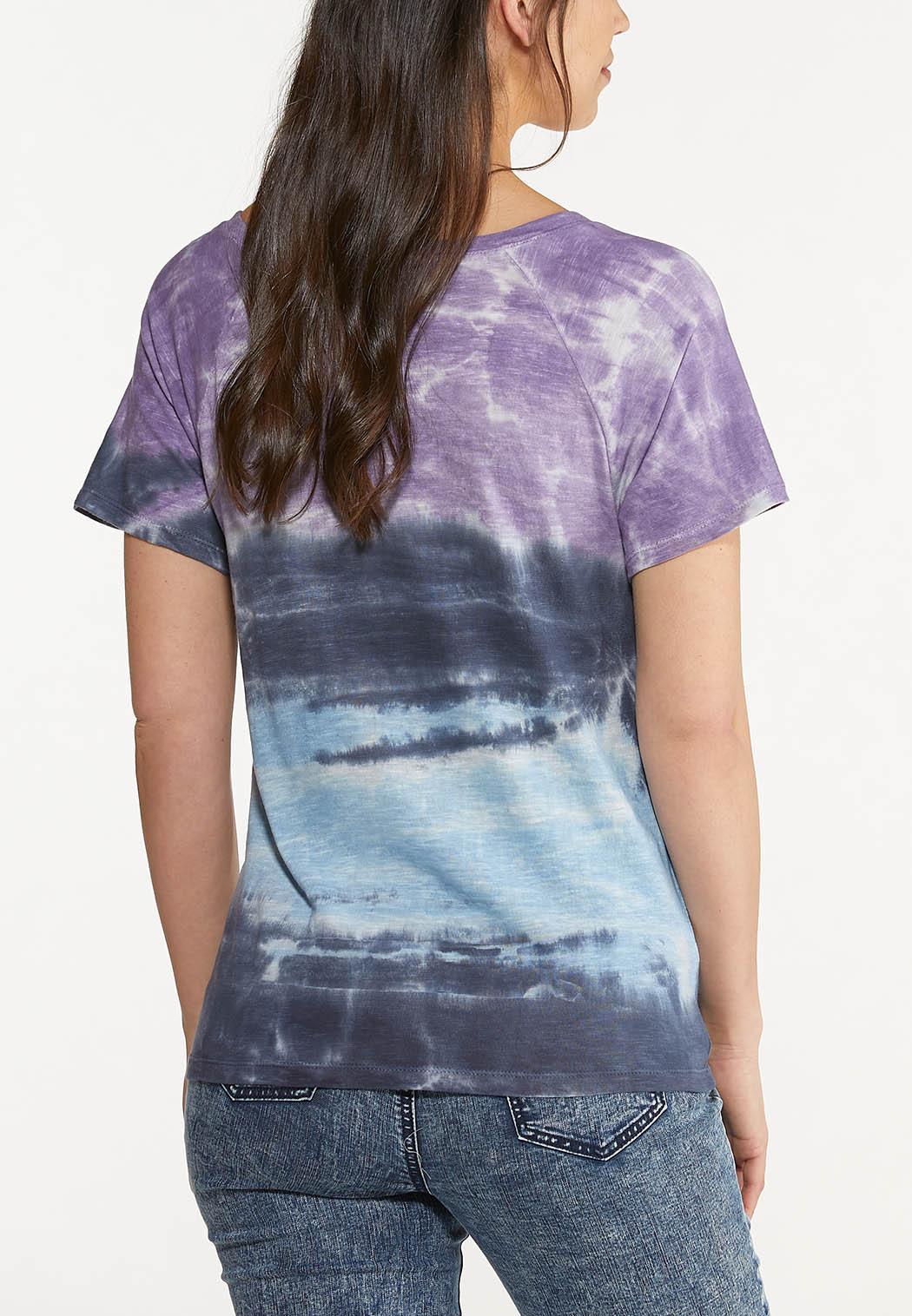 Berry Tie Dye Top (Item #44601679)