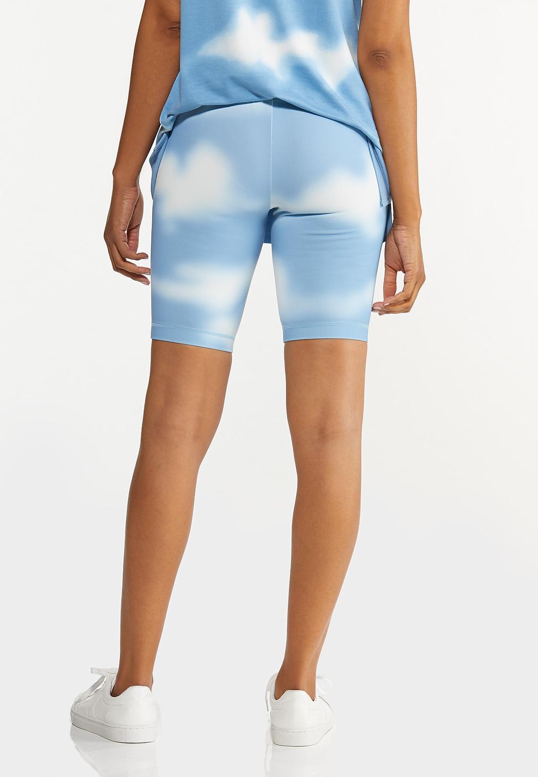 Cloud Tie Dye Biker Shorts (Item #44602316)