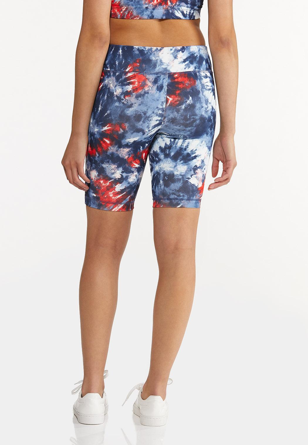 Tie Dye Biker Shorts (Item #44602521)