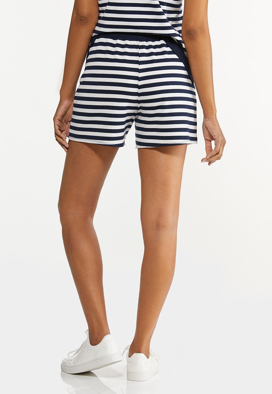 Navy Stripe Shorts (Item #44602627)