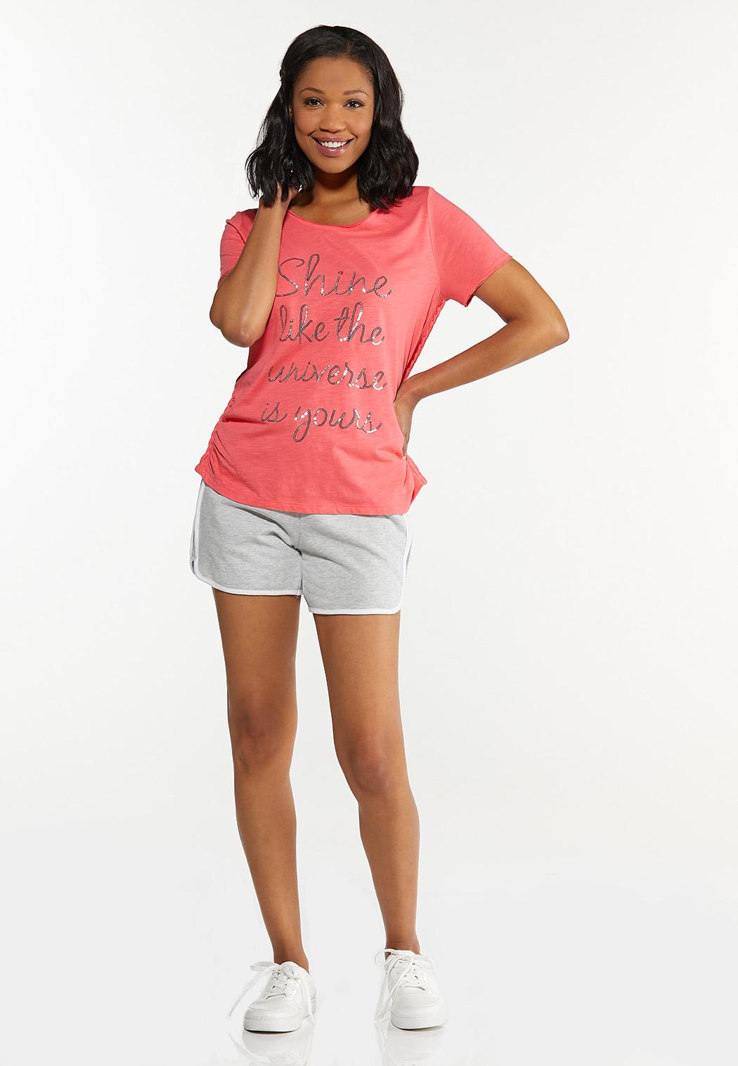 Plus Size The Universe Is Yours Tee (Item #44602952)