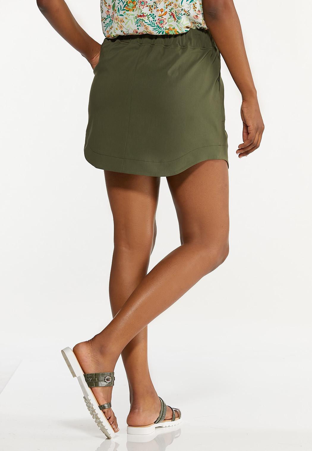 Olive Bengaline Skort (Item #44604583)