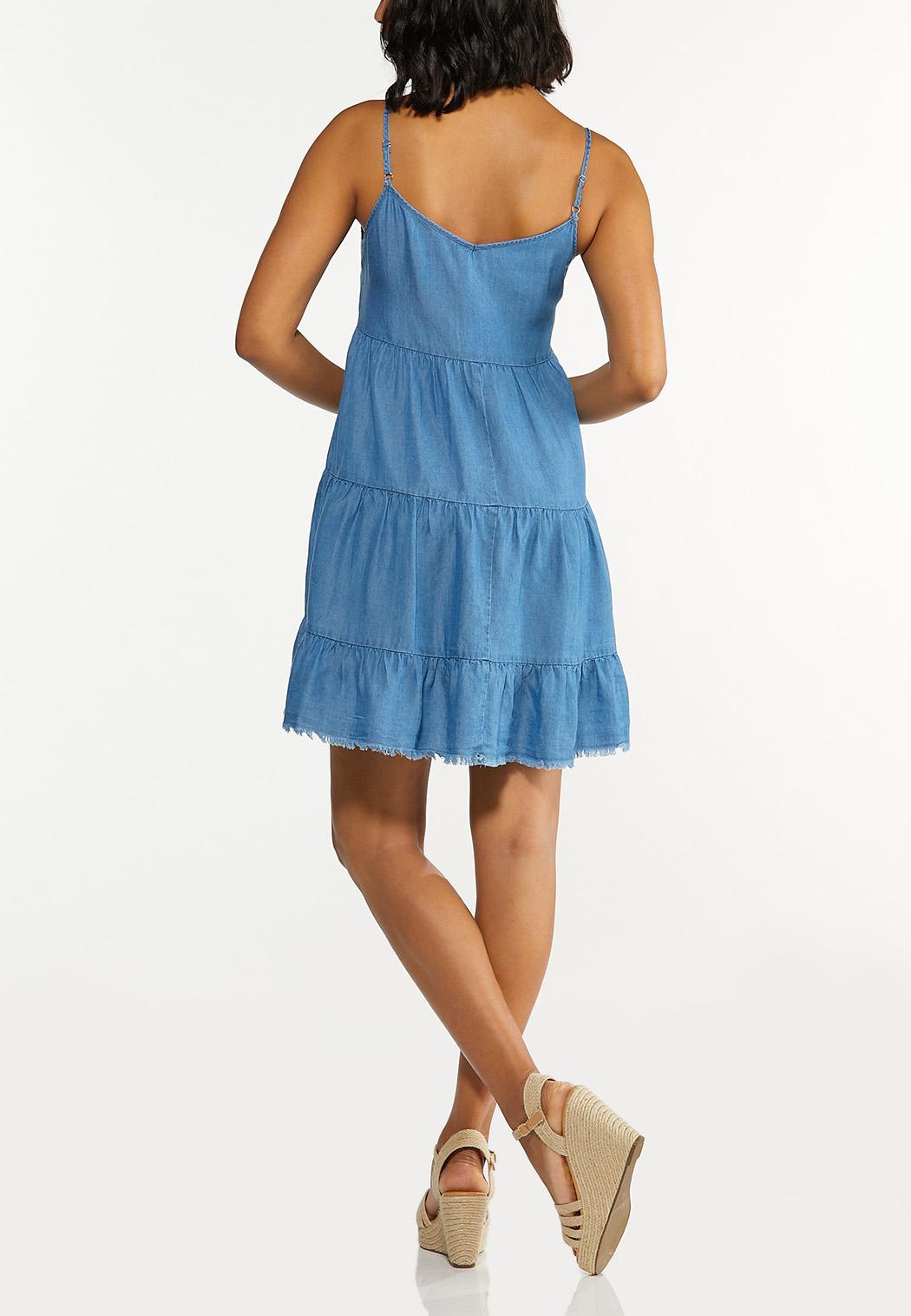 Chambray Babydoll Dress (Item #44605397)
