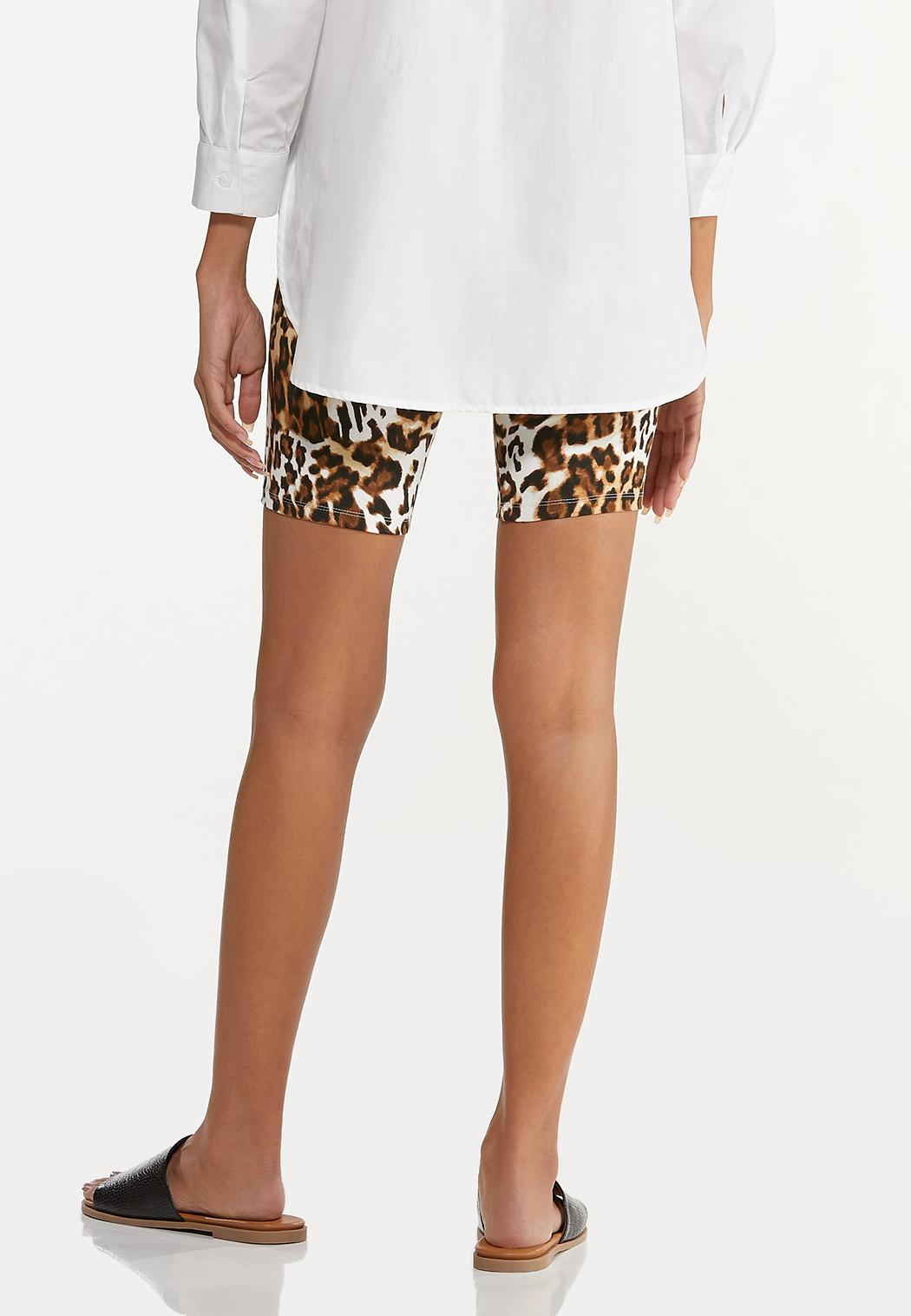 Leopard Biker Shorts (Item #44605768)