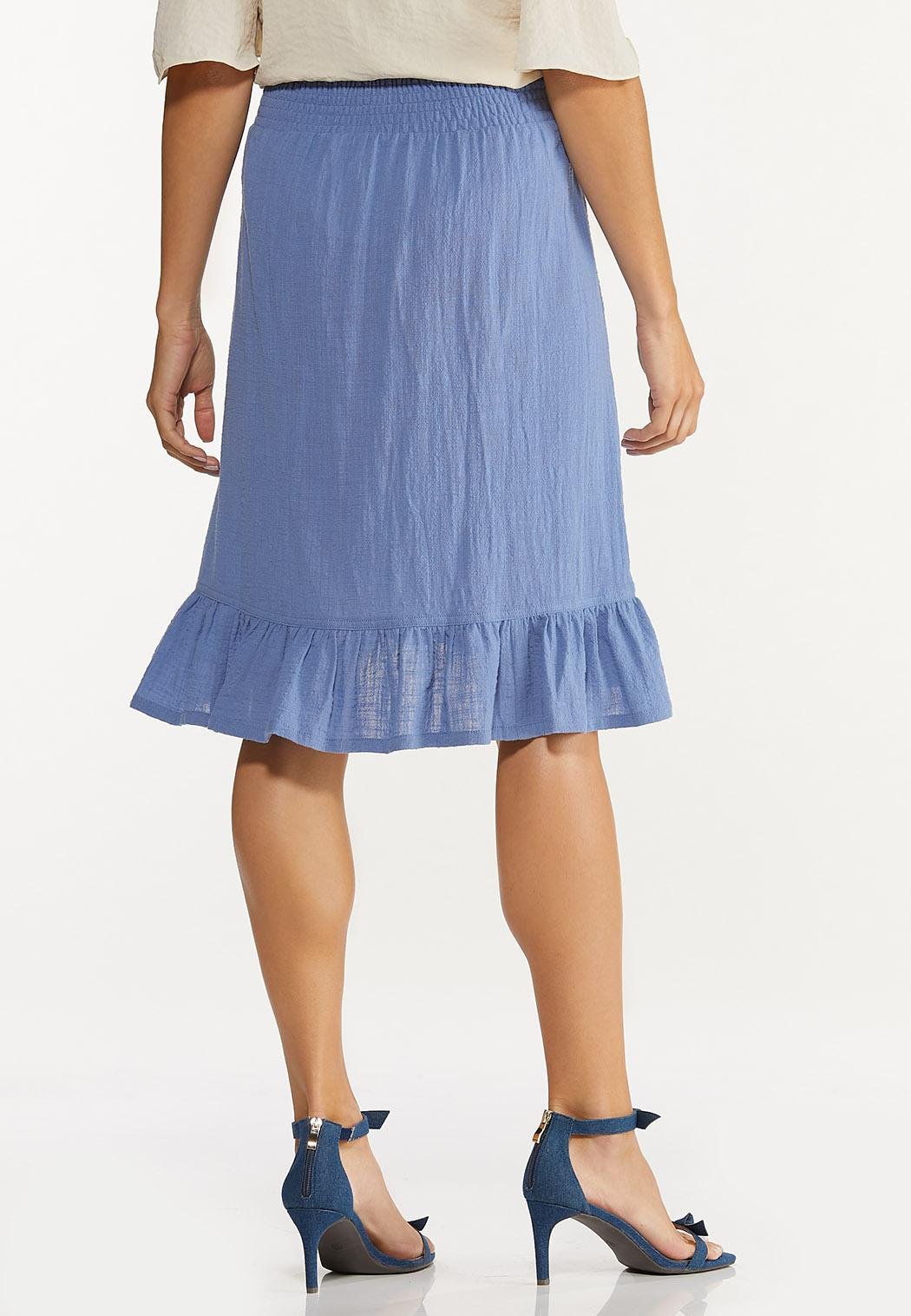 Ruffled Tie Waist Skirt (Item #44606075)