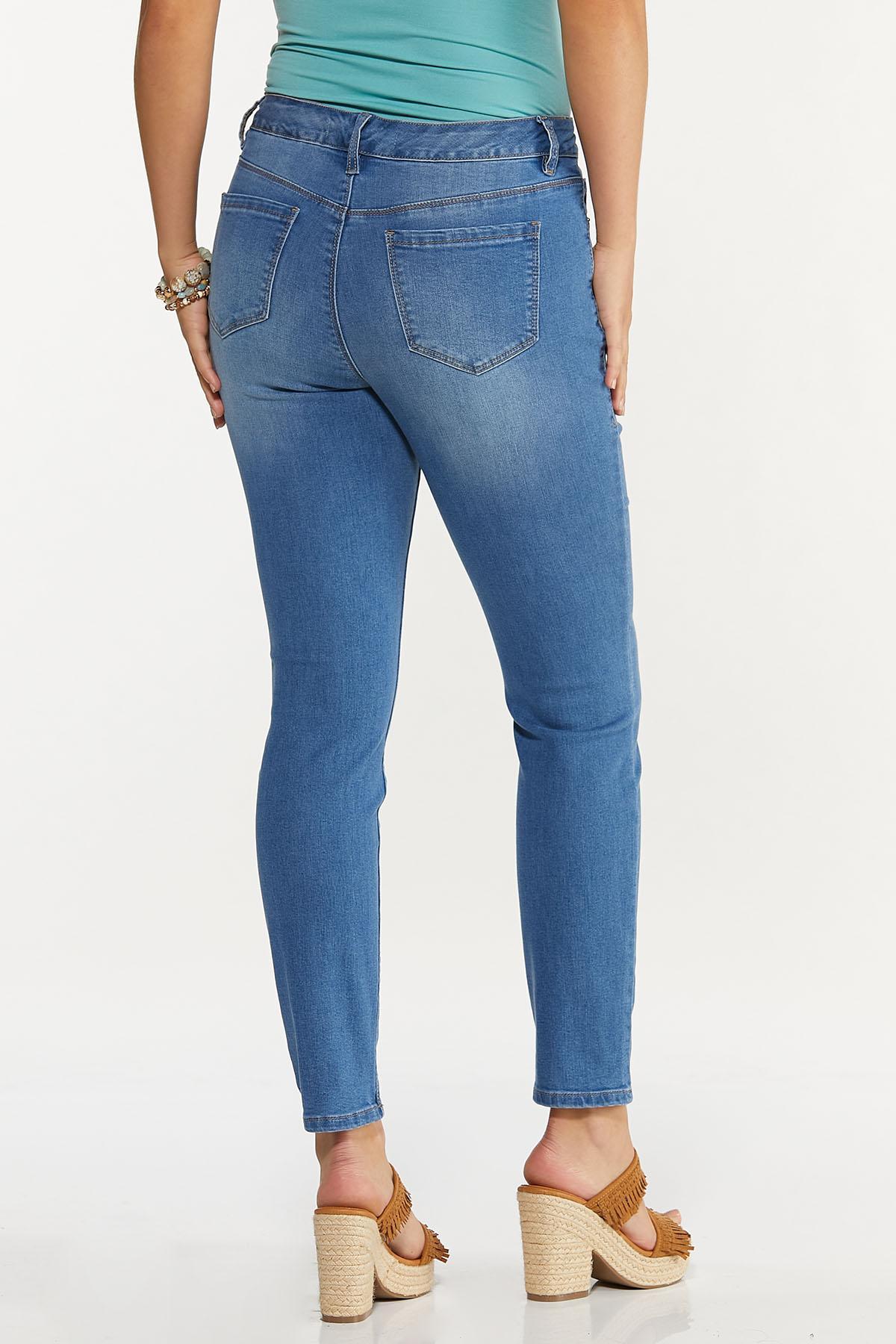 Light High-Rise Skinny Jeans (Item #44606583)