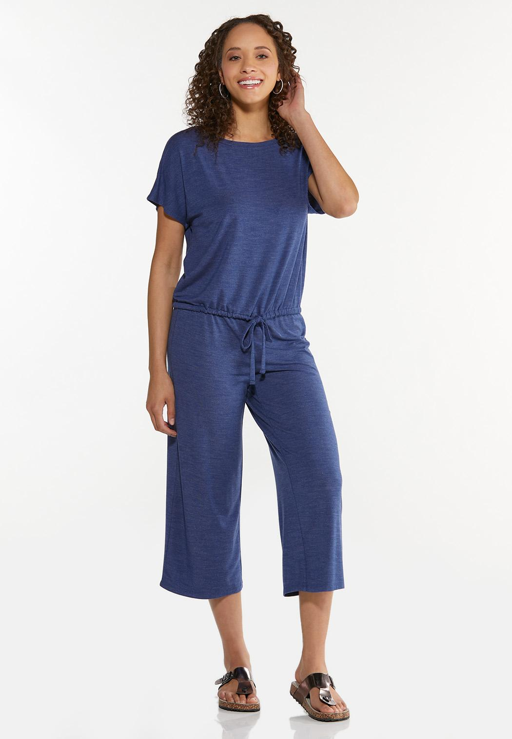 Cropped Vintage Blue Pants (Item #44606879)