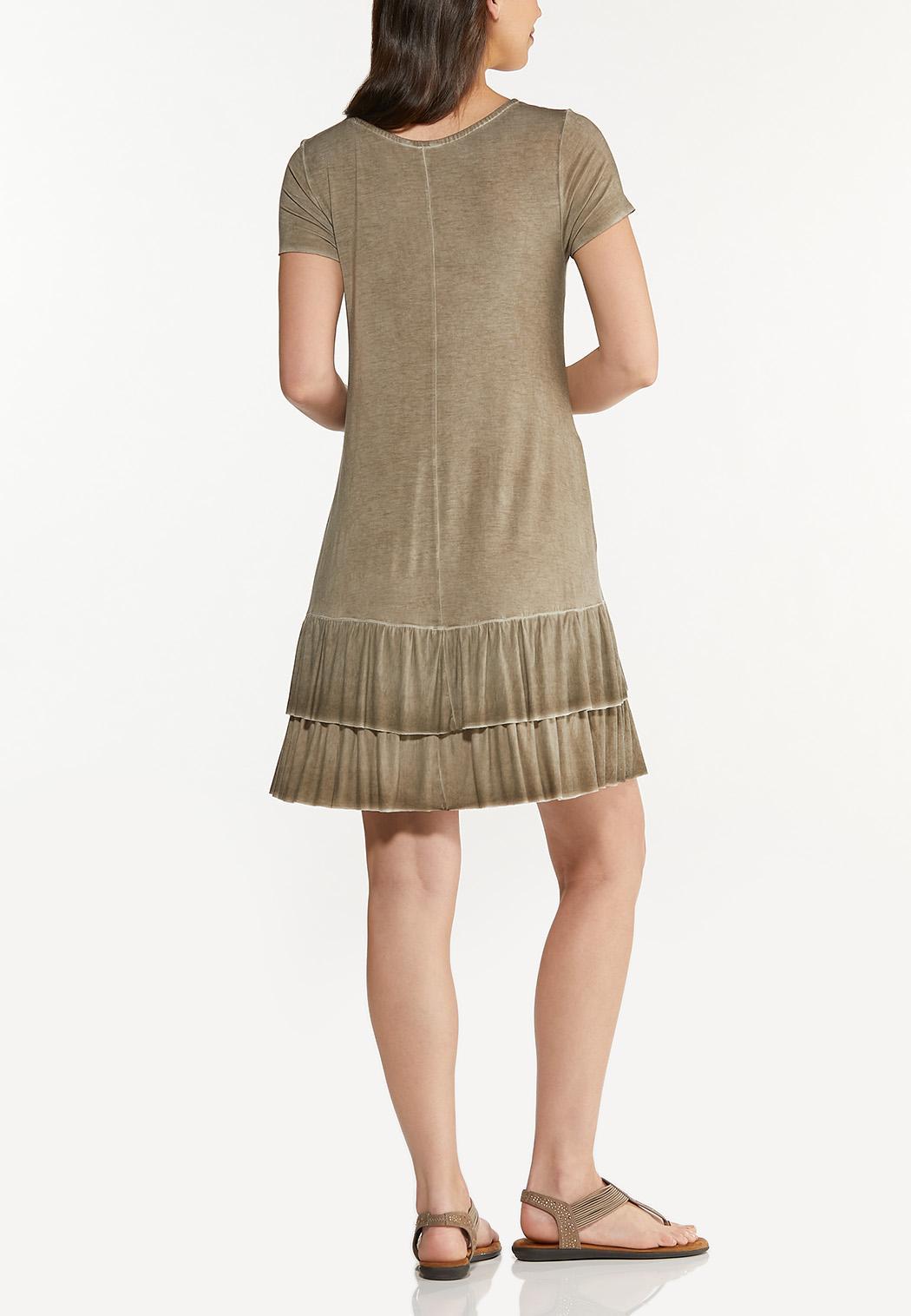 Summer Sand Flounced Dress (Item #44607453)