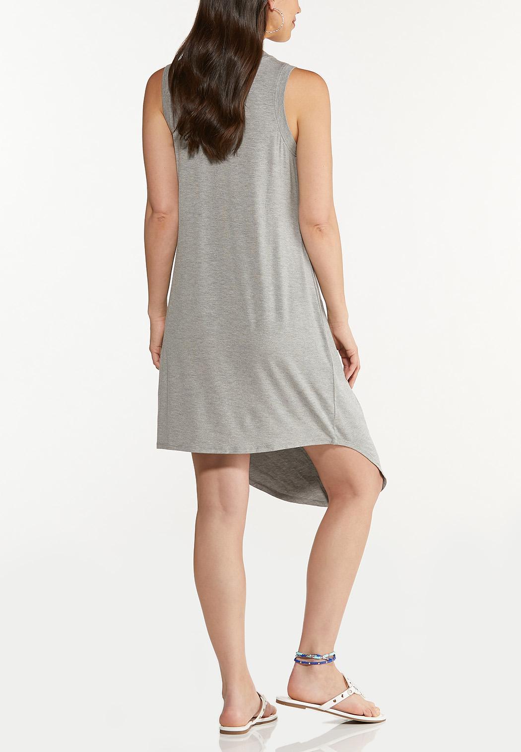 Plus Size Love Tank Dress (Item #44607745)