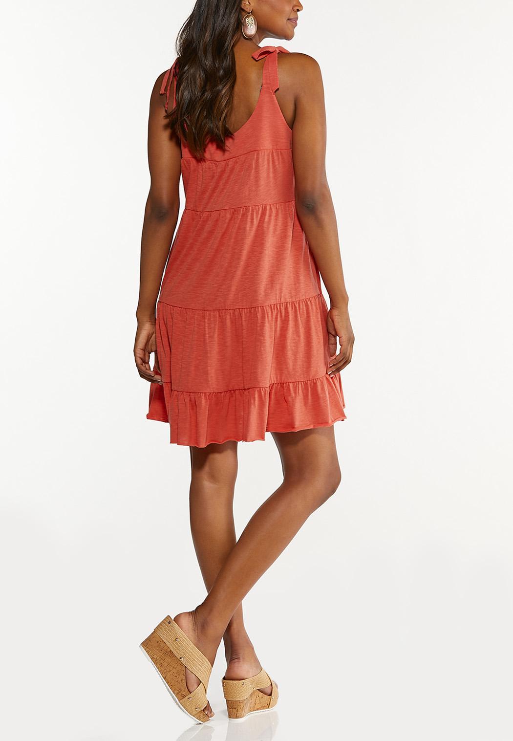 Tie Sleeve Babydoll Dress (Item #44607774)