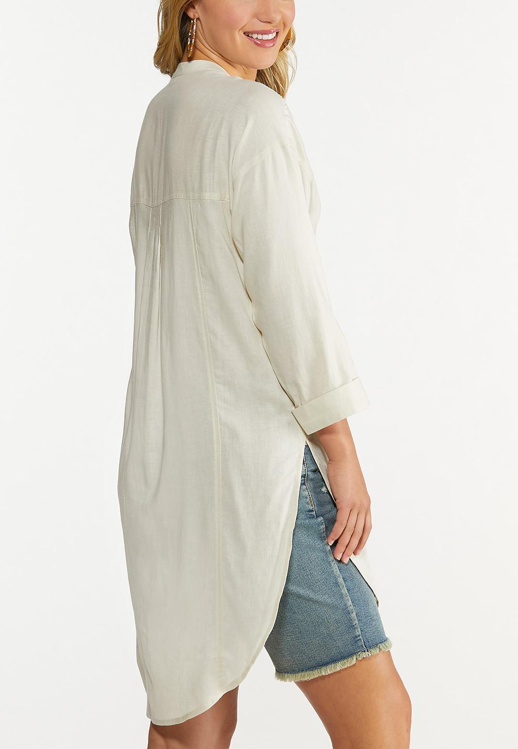 Natural Linen Tunic (Item #44608201)
