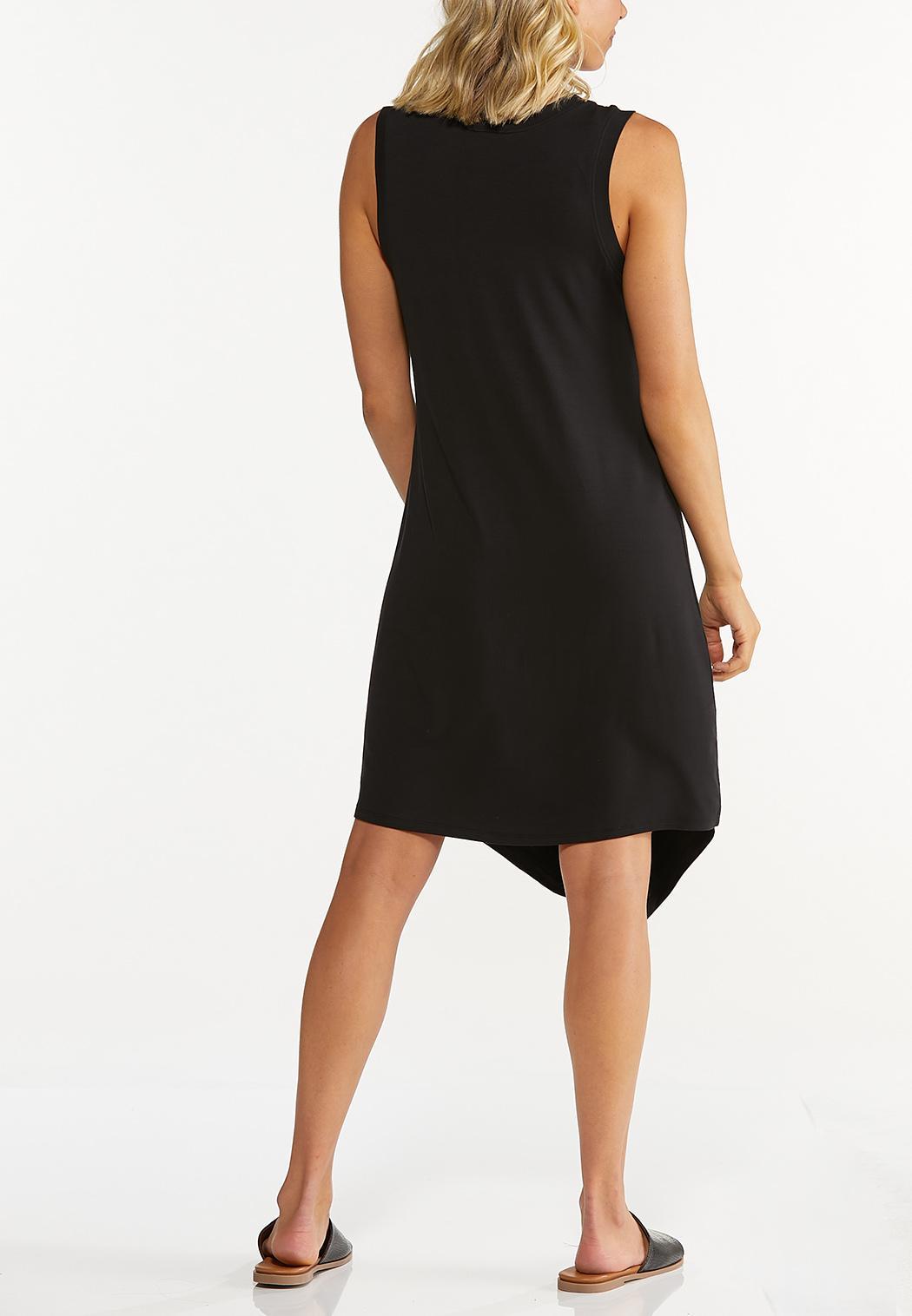 Solid Black Tank Dress (Item #44608562)