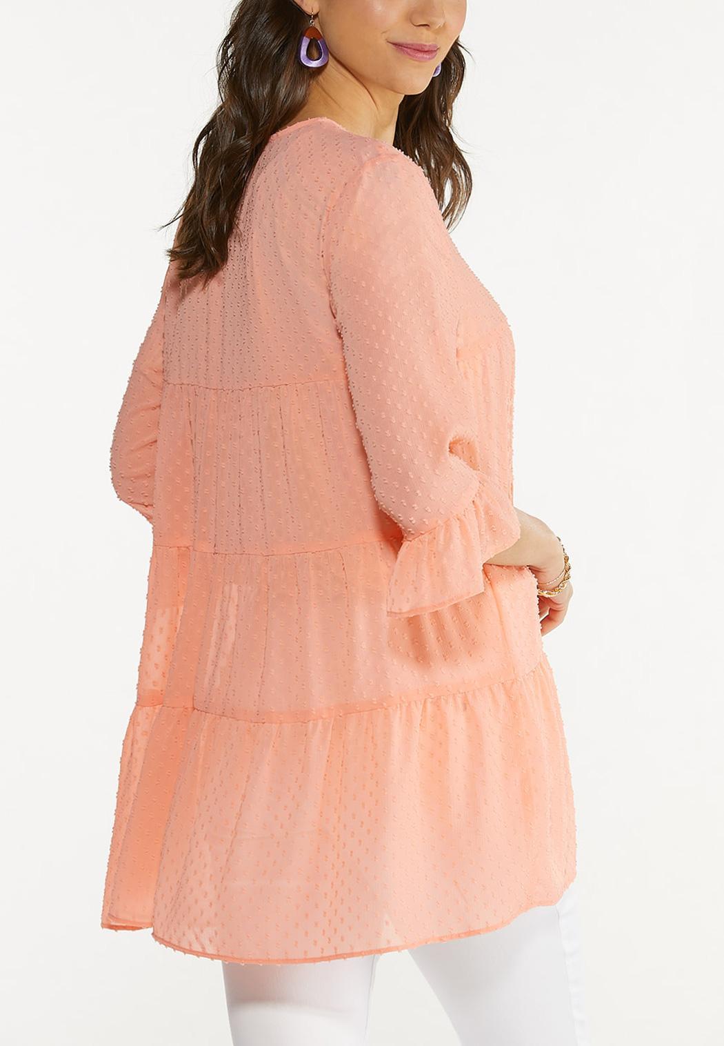 Clip Dot Coral Kimono (Item #44609643)