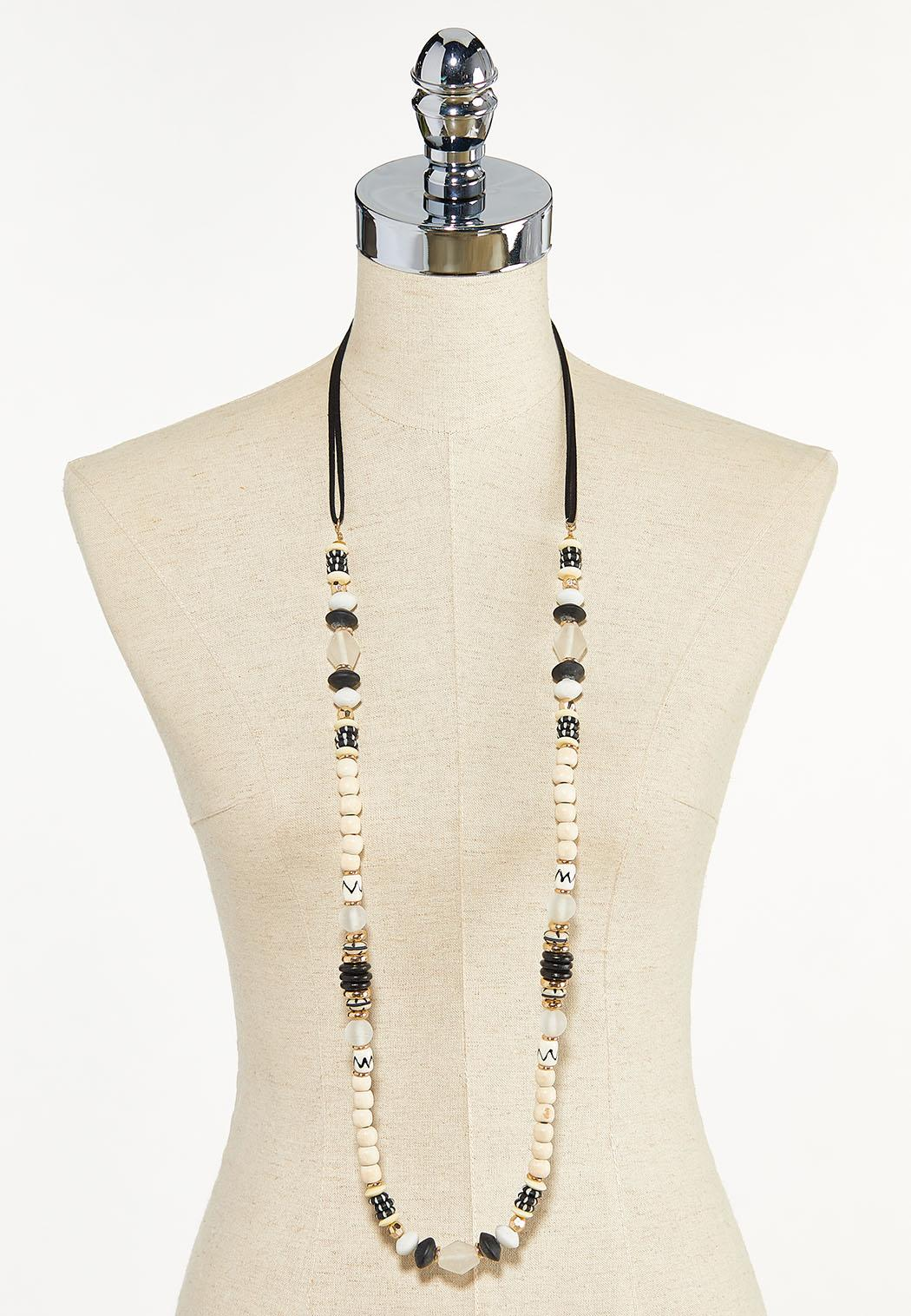 Natural Bead Necklace (Item #44609871)
