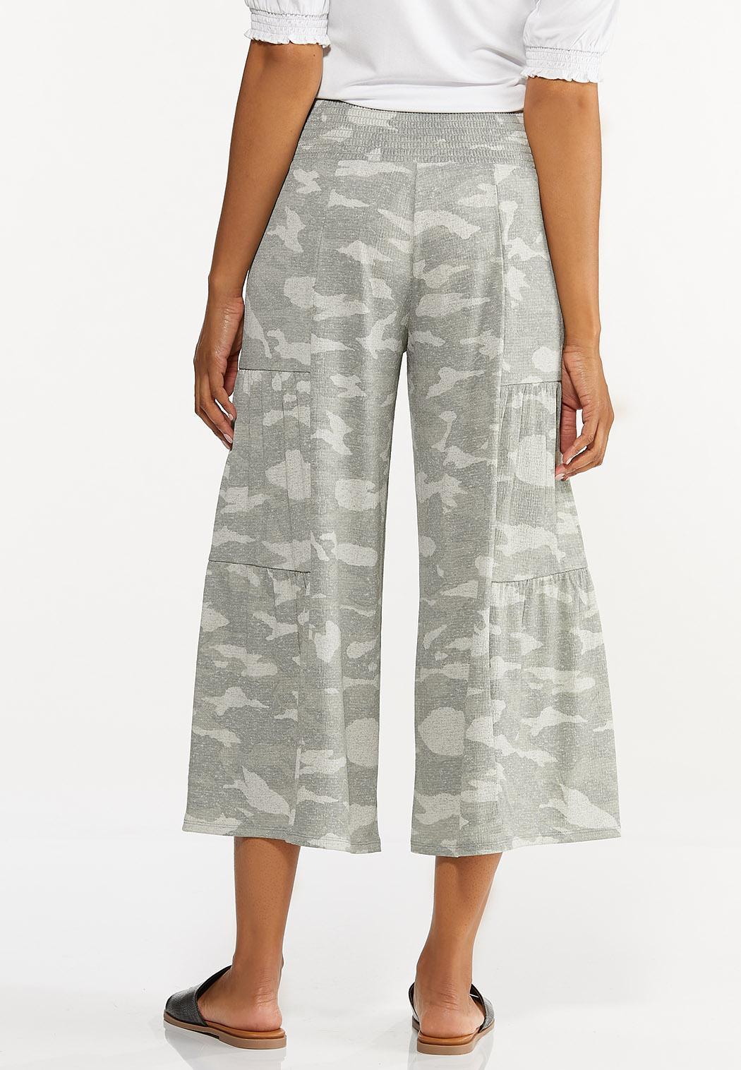Cropped Camo Pants (Item #44611536)