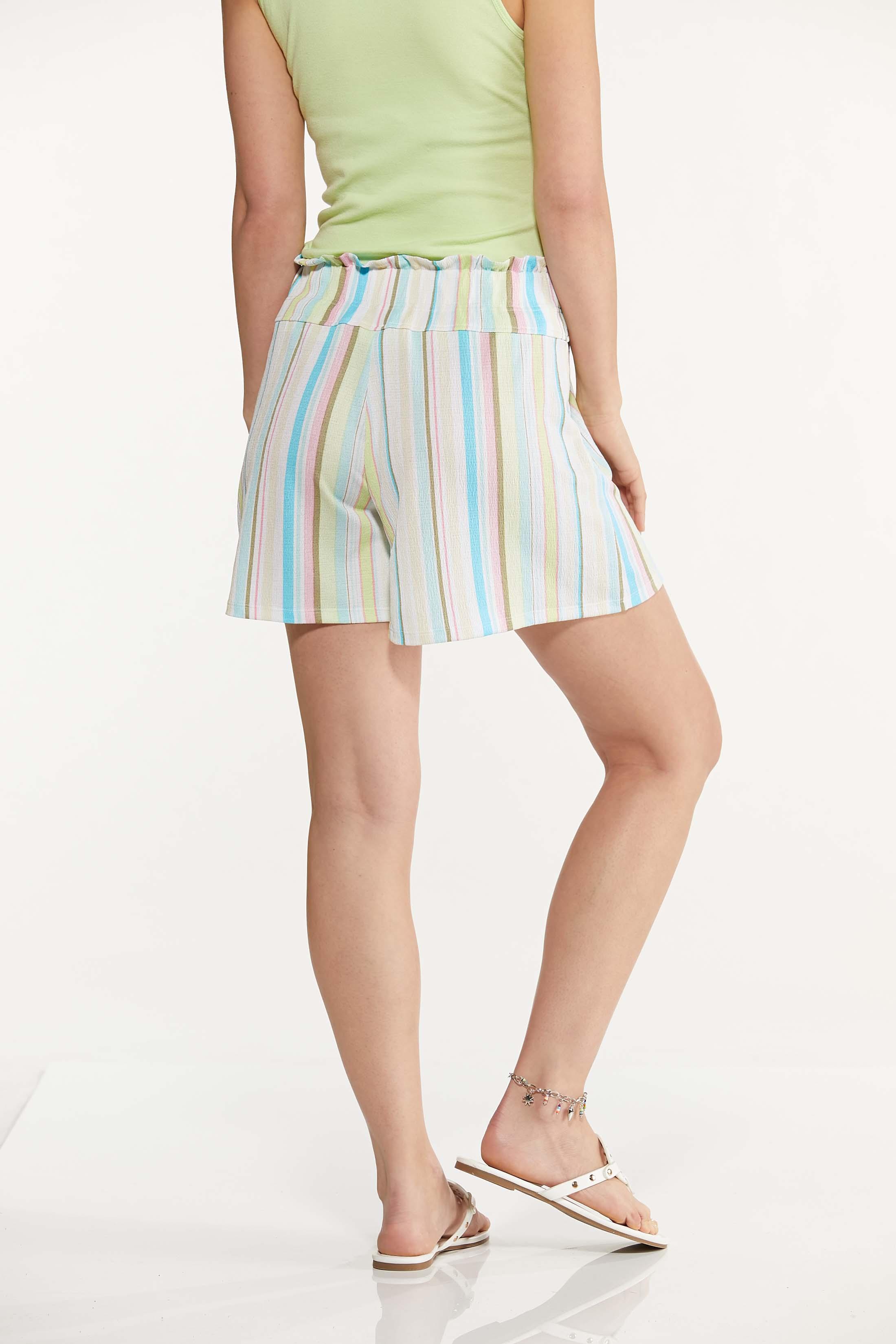 Gauzy Summer Stripe Shorts (Item #44611573)