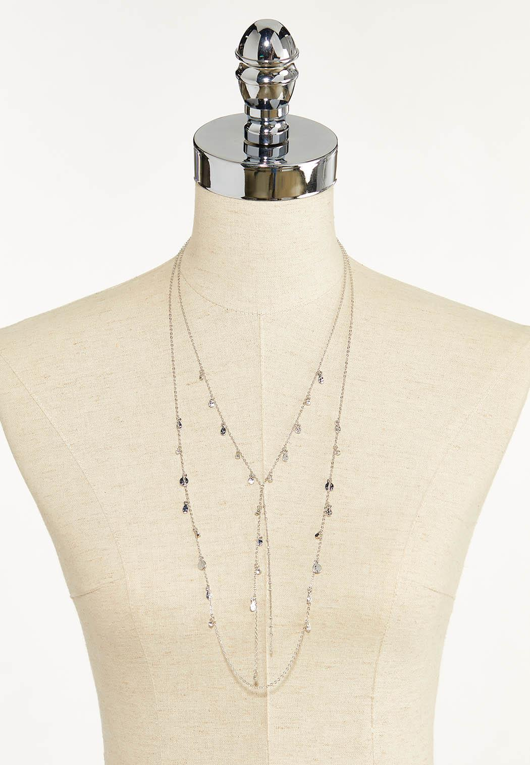 Delicate Shaky Charm Y-Necklace (Item #44612335)