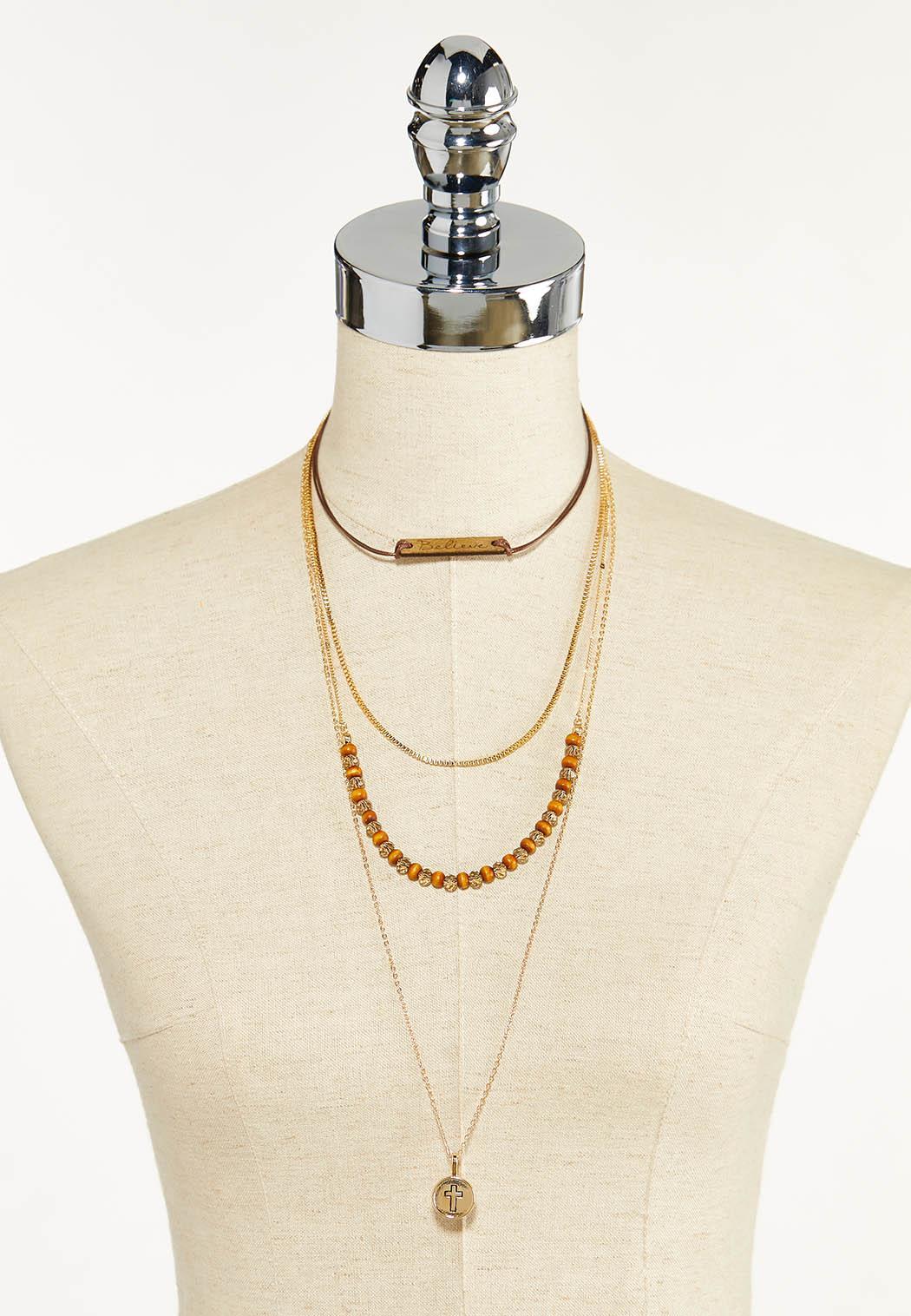 Believe Layered Necklace (Item #44612443)