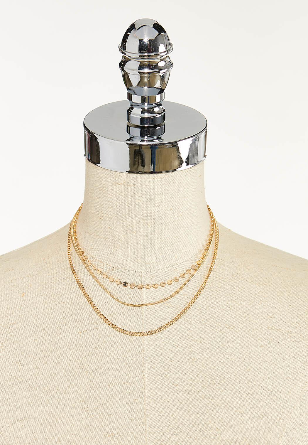 Chain Delicate Layered Necklace (Item #44612541)