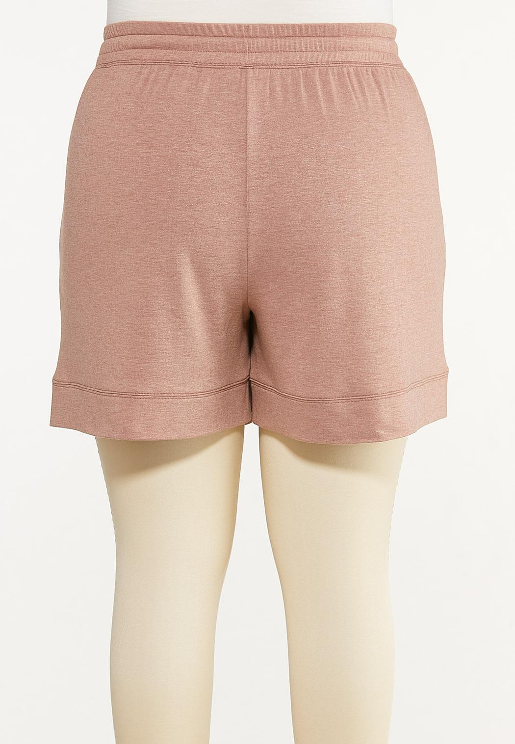 Plus Size French Terry Shorts (Item #44613274)