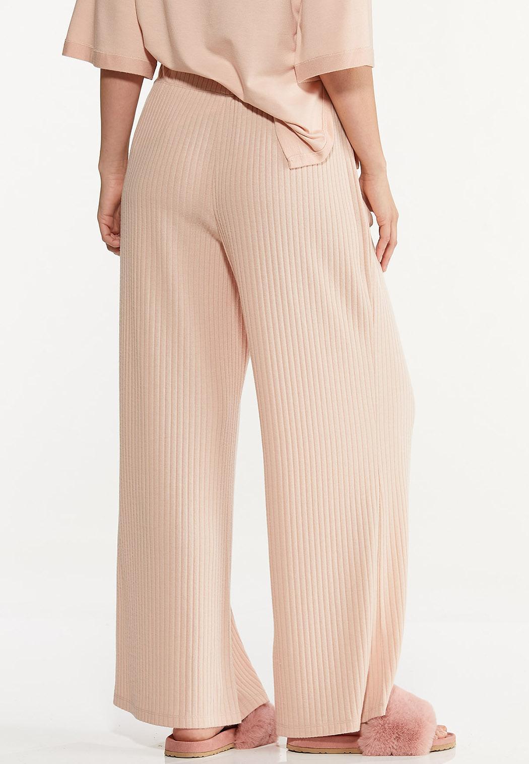 Blushing Ribbed Lounge Pants (Item #44613282)