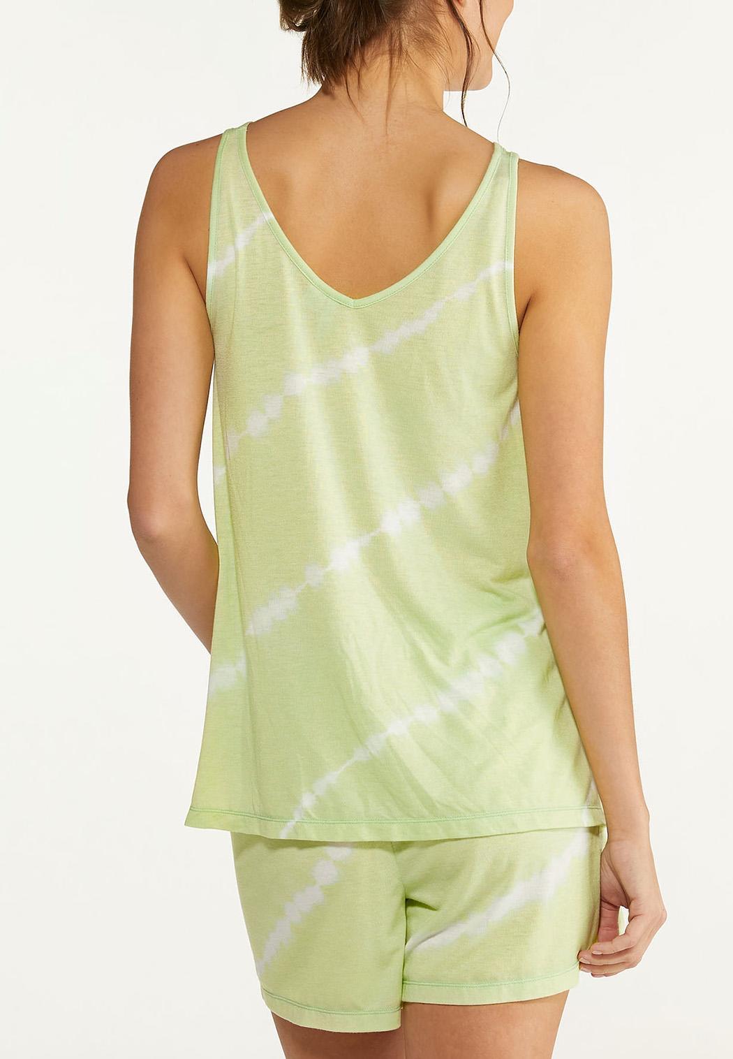 Plus Size Tie Dye Lounge Tank (Item #44613619)