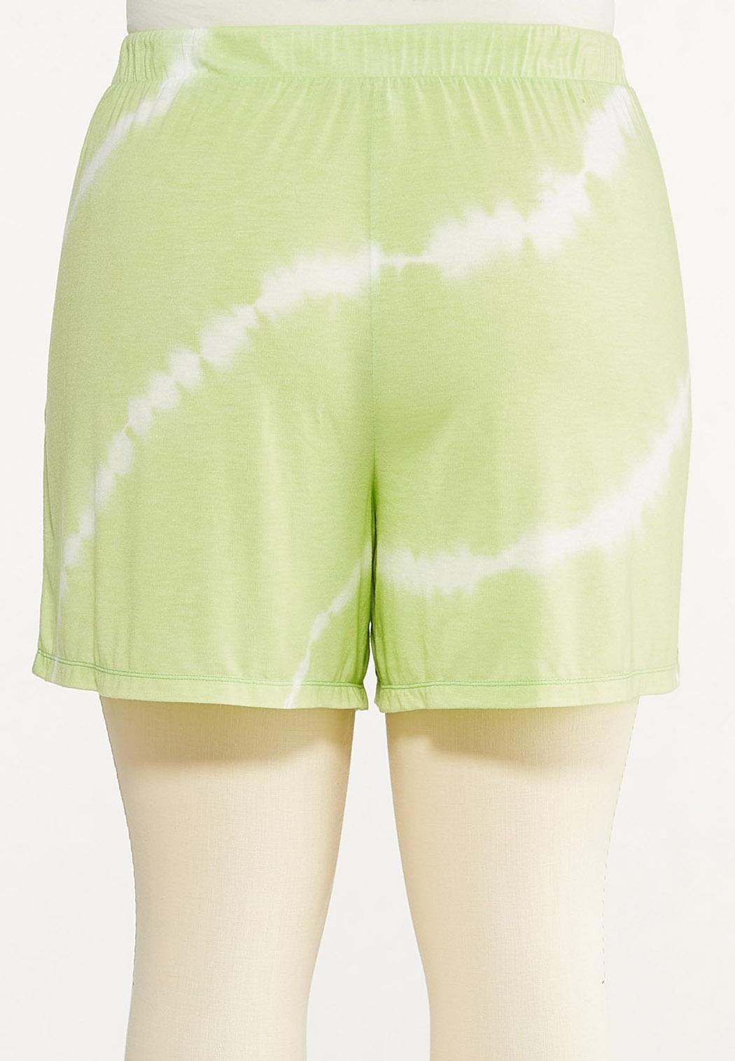 Plus Size Tie Dye Lounge Shorts (Item #44613649)