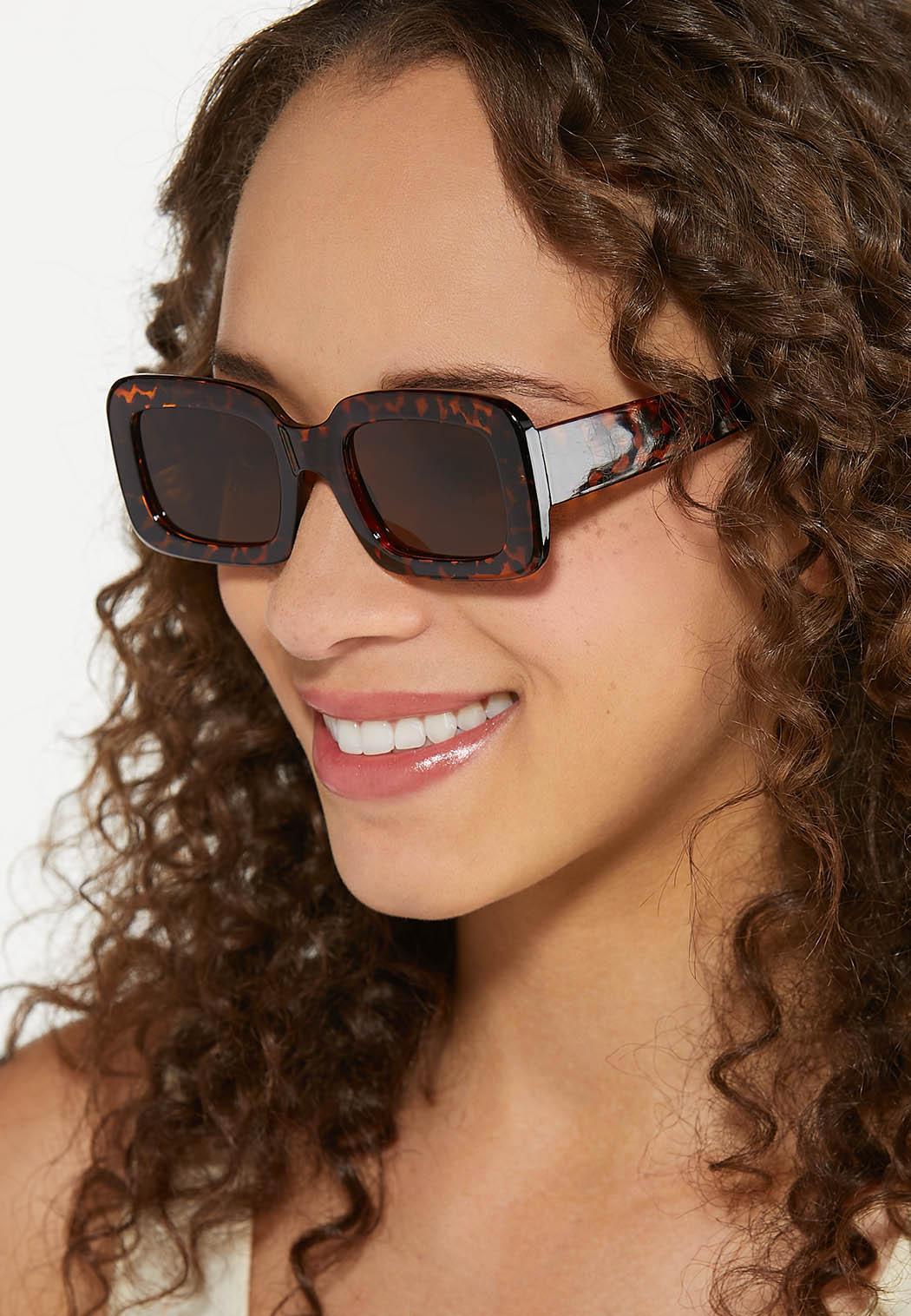 Tortoise Square Sunglasses (Item #44613717)