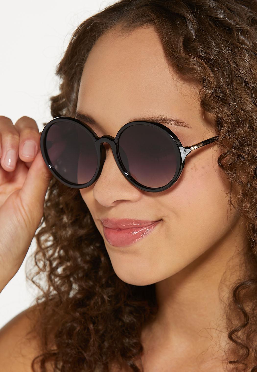 Round Black Sunglasses (Item #44613793)