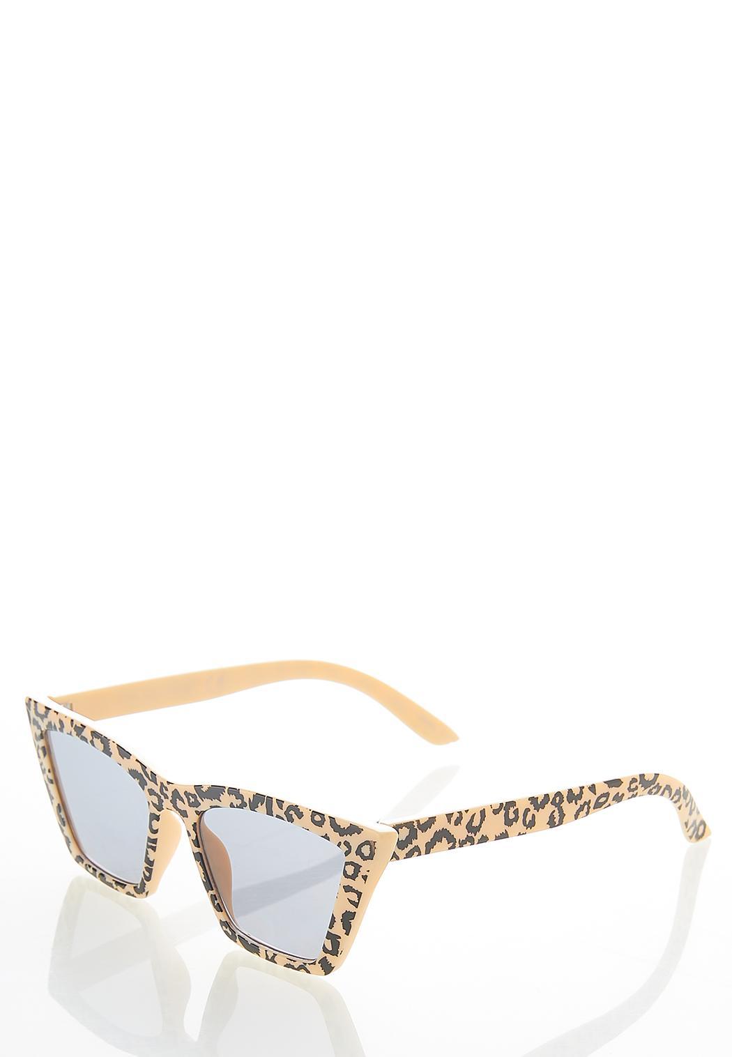 Leopard Cat Eye Sunglasses (Item #44613796)