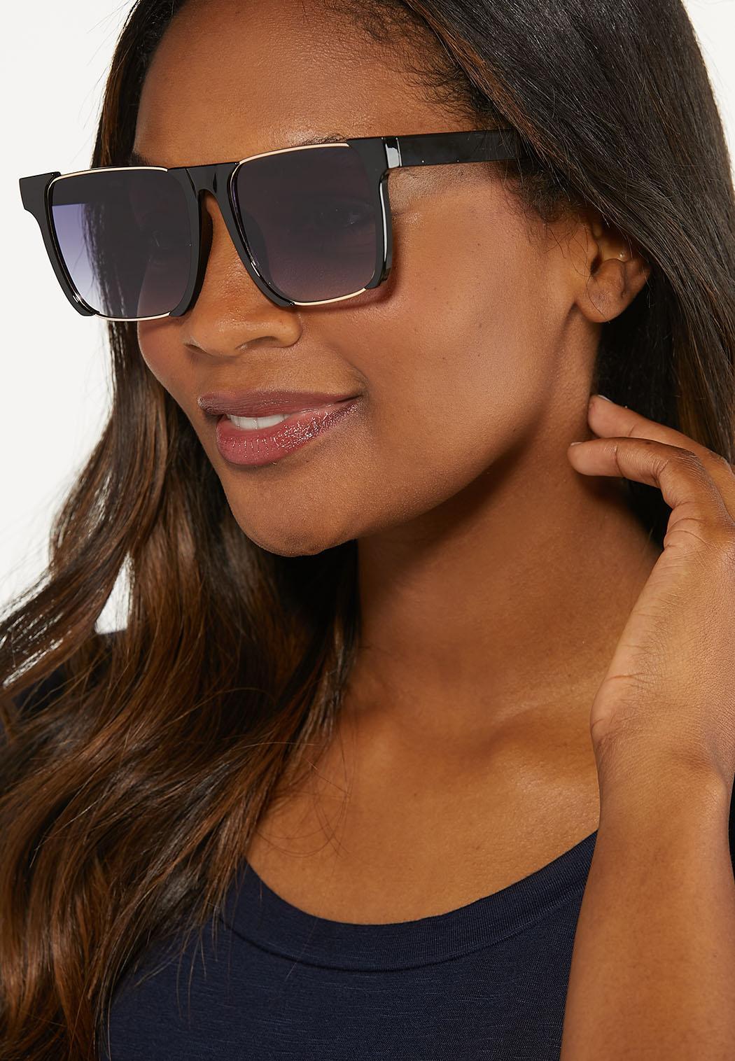 Black Square Sunglasses (Item #44613853)