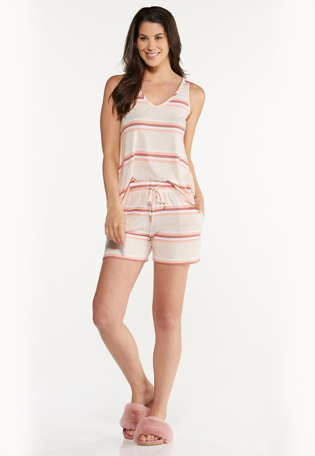 Striped Hacci Shorts (Item #44613889)