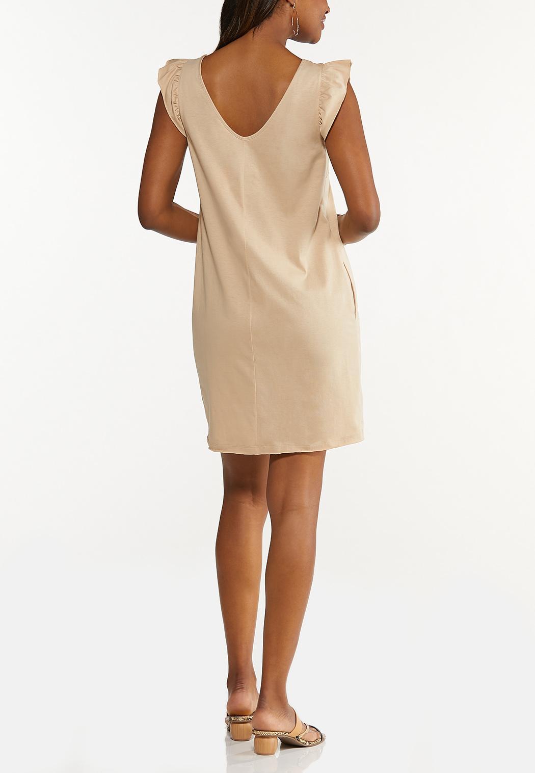 Plus Size Ruffled Tank Dress (Item #44613891)